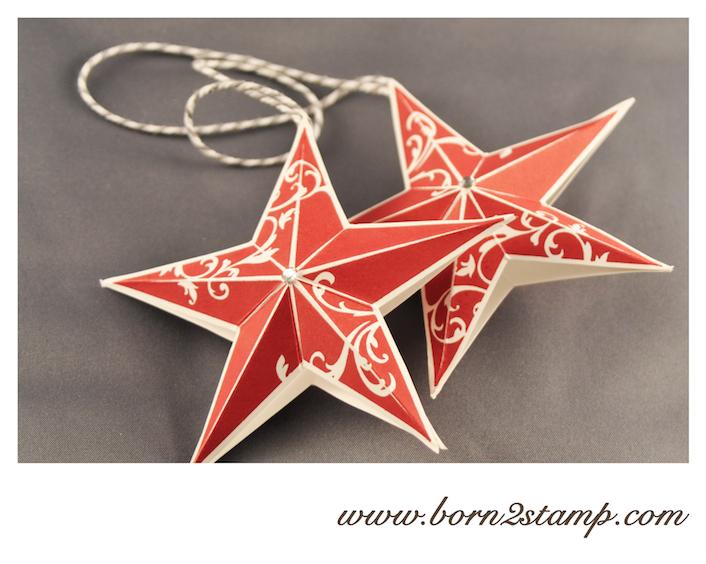 STAMPIN' UP! Baumschmuck mit Christmas Star
