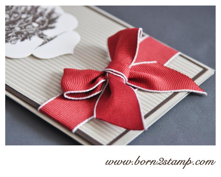 STAMPIN' UP! Weihnachtskarte mit Special Season