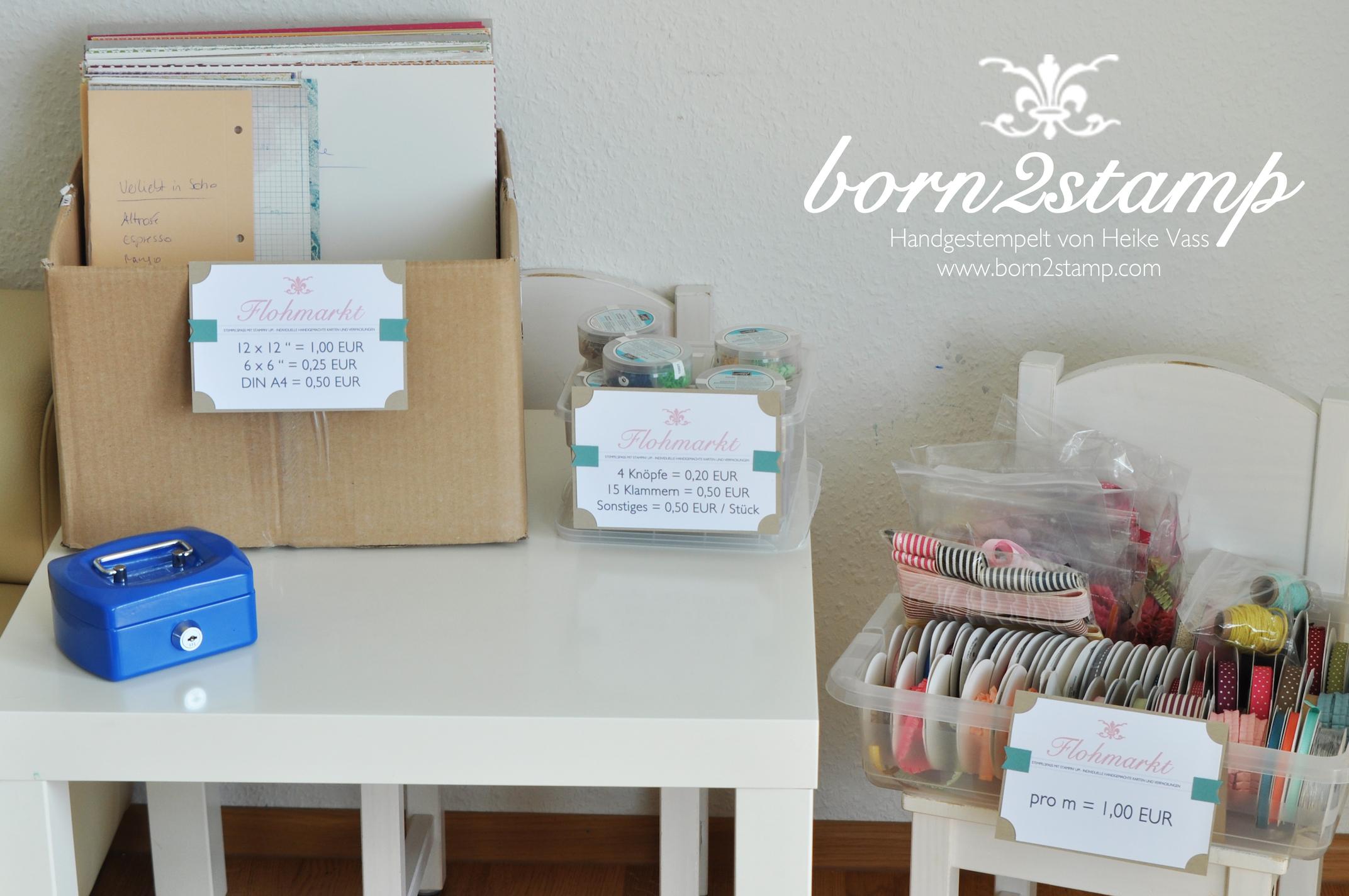 Katalogparty born2stamp Flohmarkt