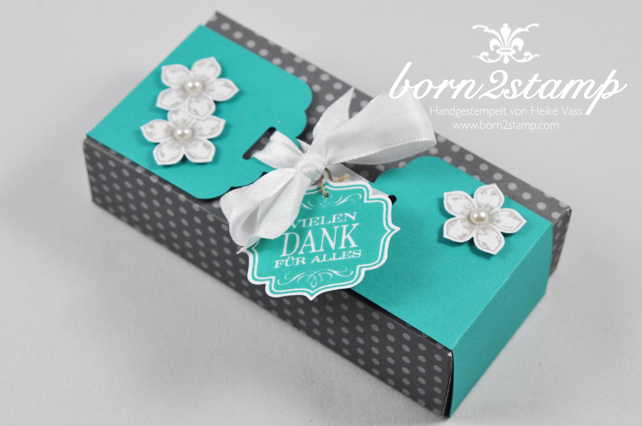 STAMPIN' UP! Verpackung gewellte Anhängerstanze Petite Petals Envelope Punch Board Edles Etikett