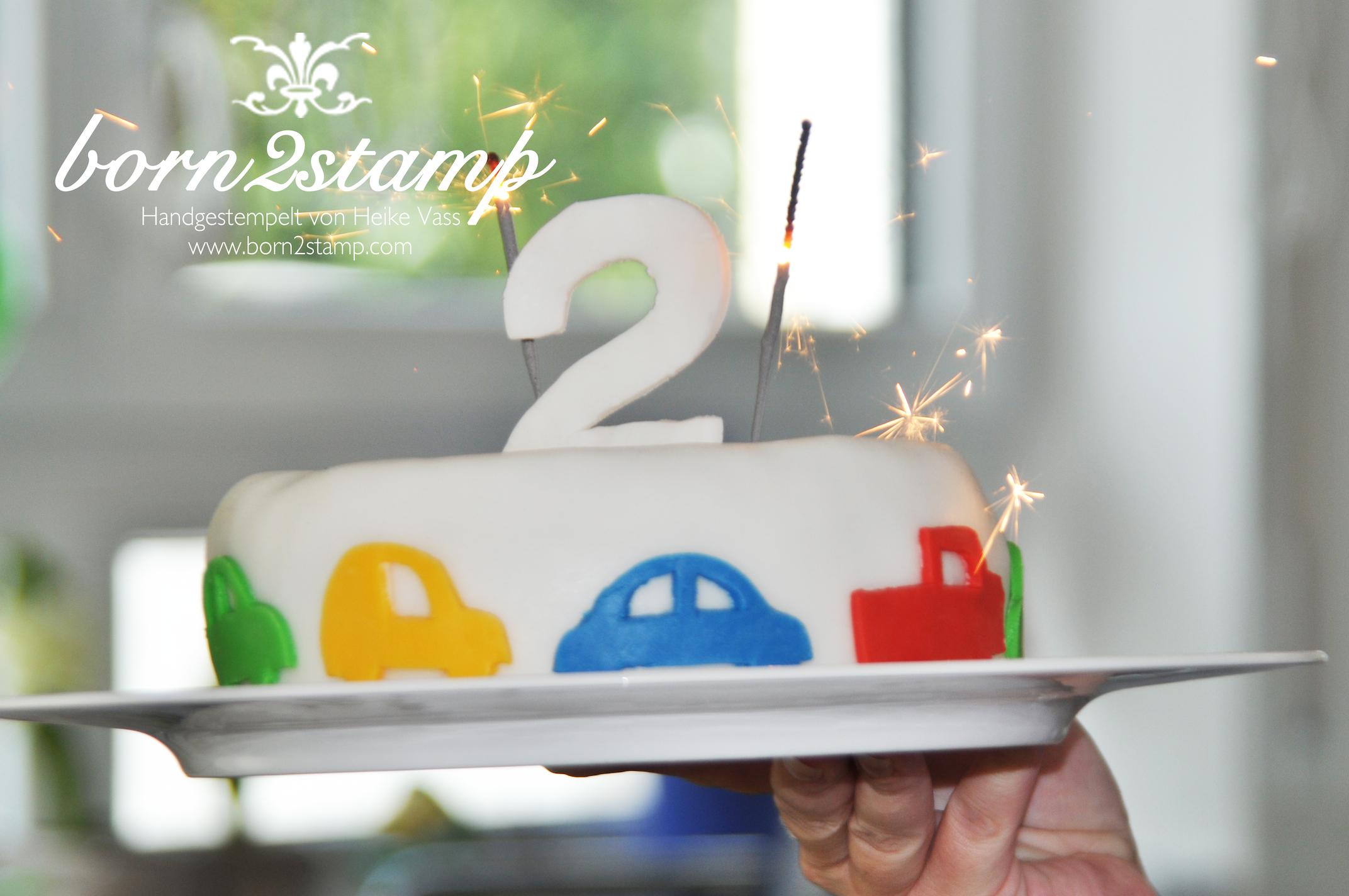 Auto-Party Car theme birthday party Geburtstagskuchen Birthdaycake