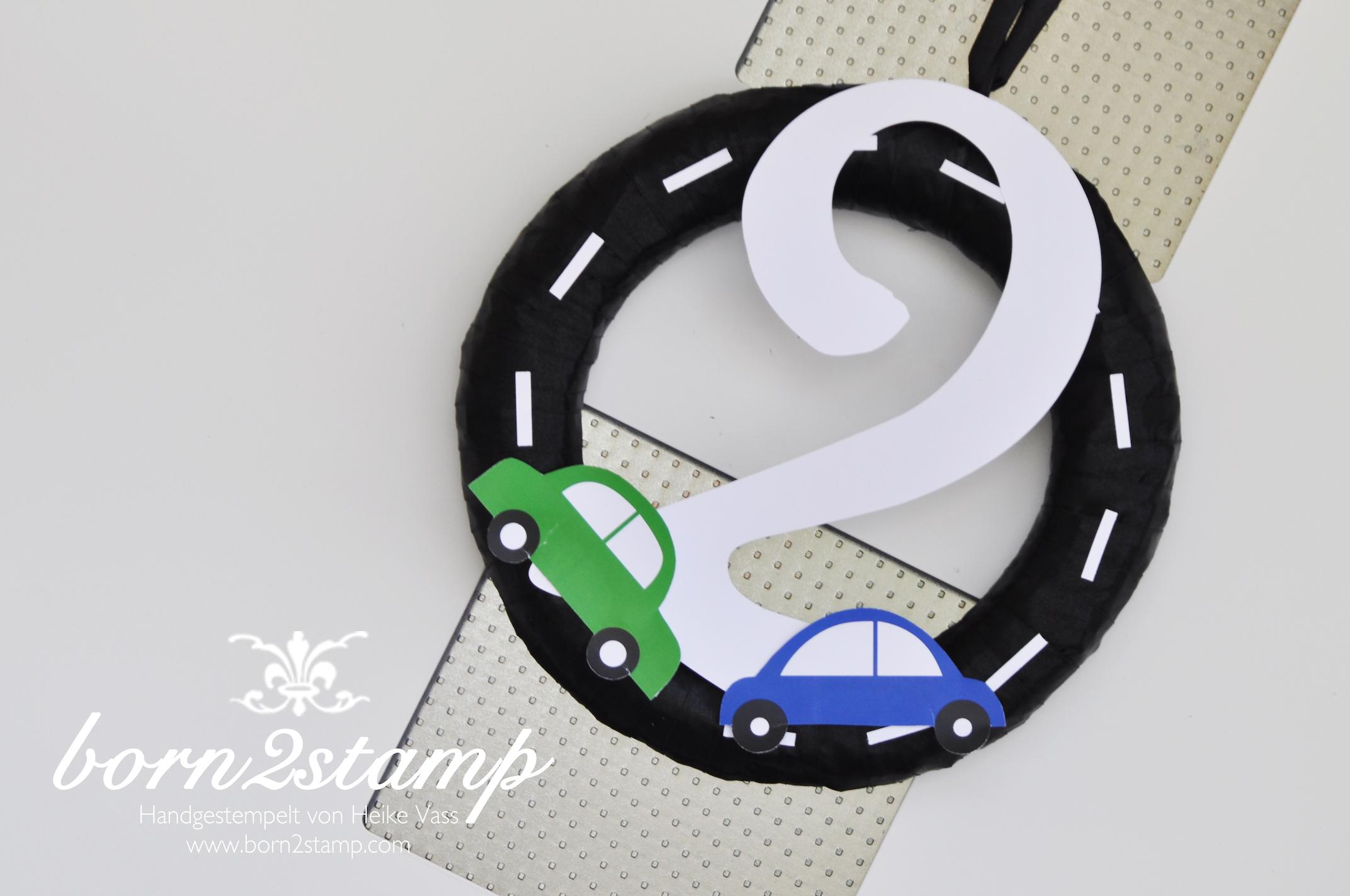 Auto Party Geburtstag Birthday Car theme Deko Eingangstür door decoration Türkranz wreath