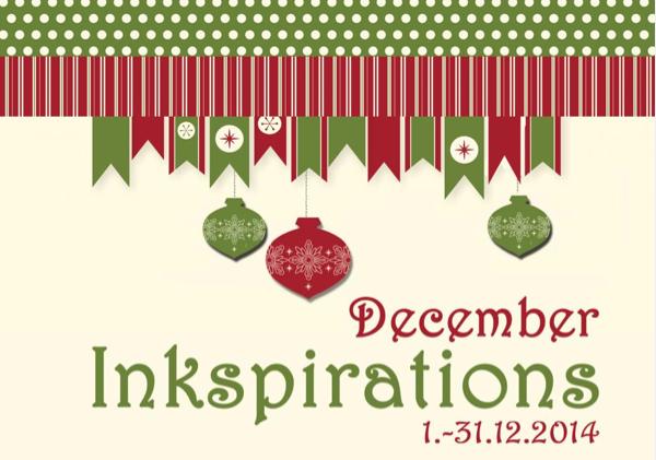 December Inkspiration 2014
