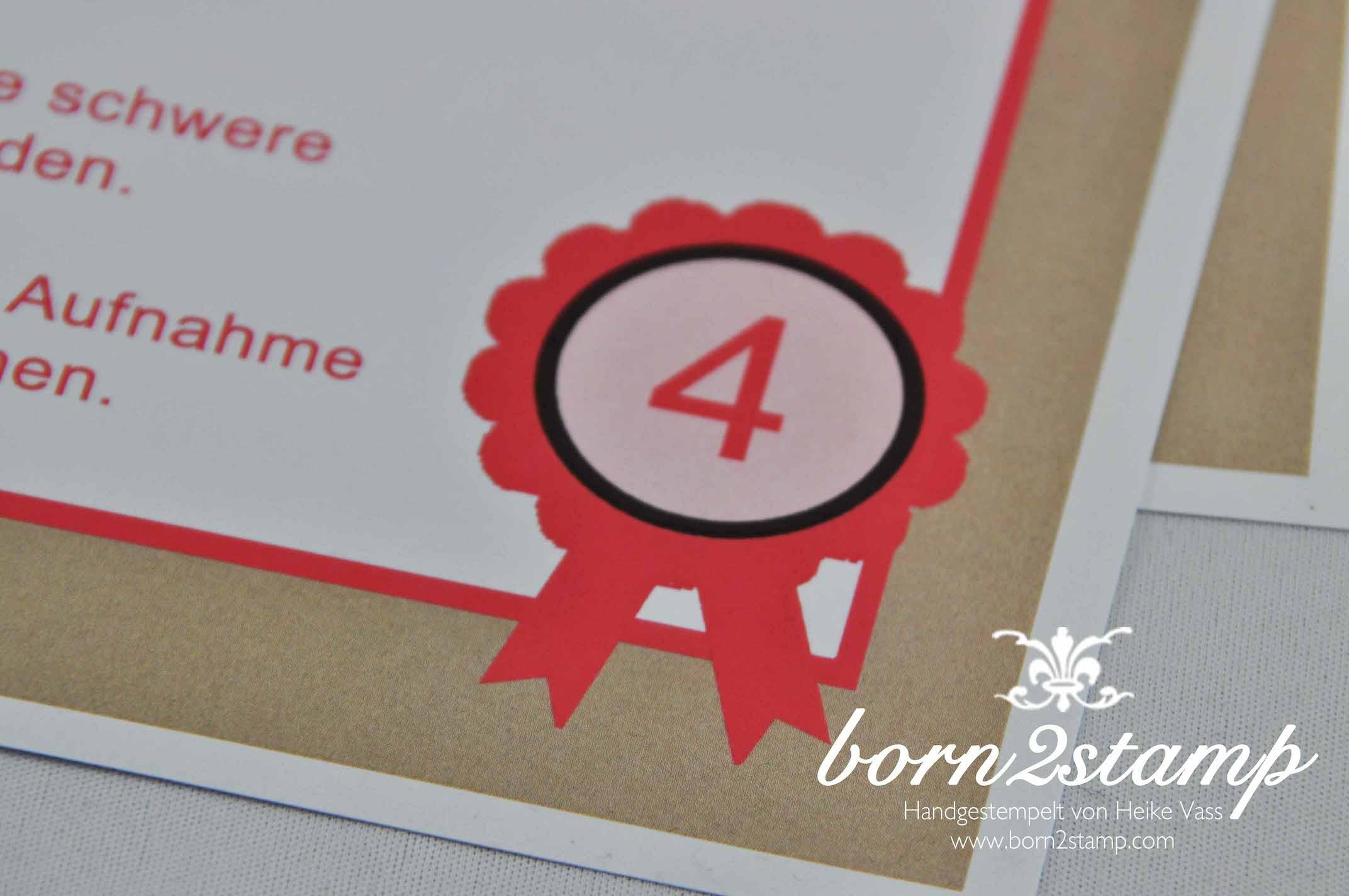 born2stamp Pferde Geburtstagsparty Spiele Horse birthday party games 13