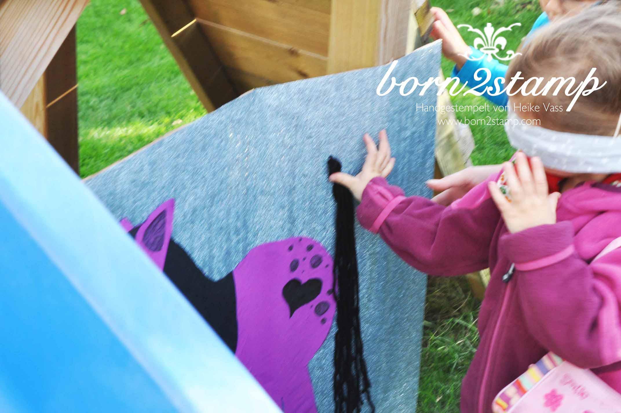 born2stamp Pferde Geburtstagsparty Spiele Horse birthday party games