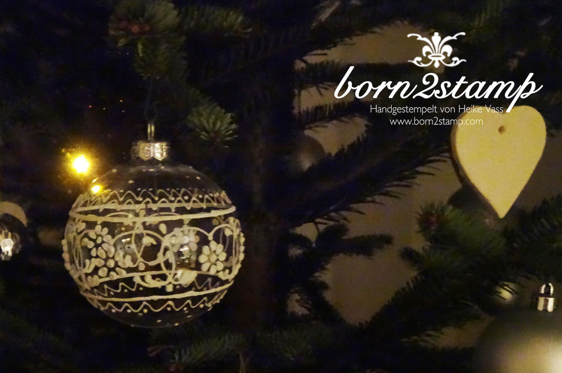 born2stamp Weihnachtsbaum 2014