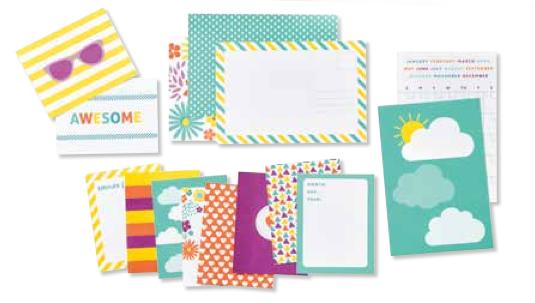 Mini-Kartenkollektion Project Life Ein schöner Tag