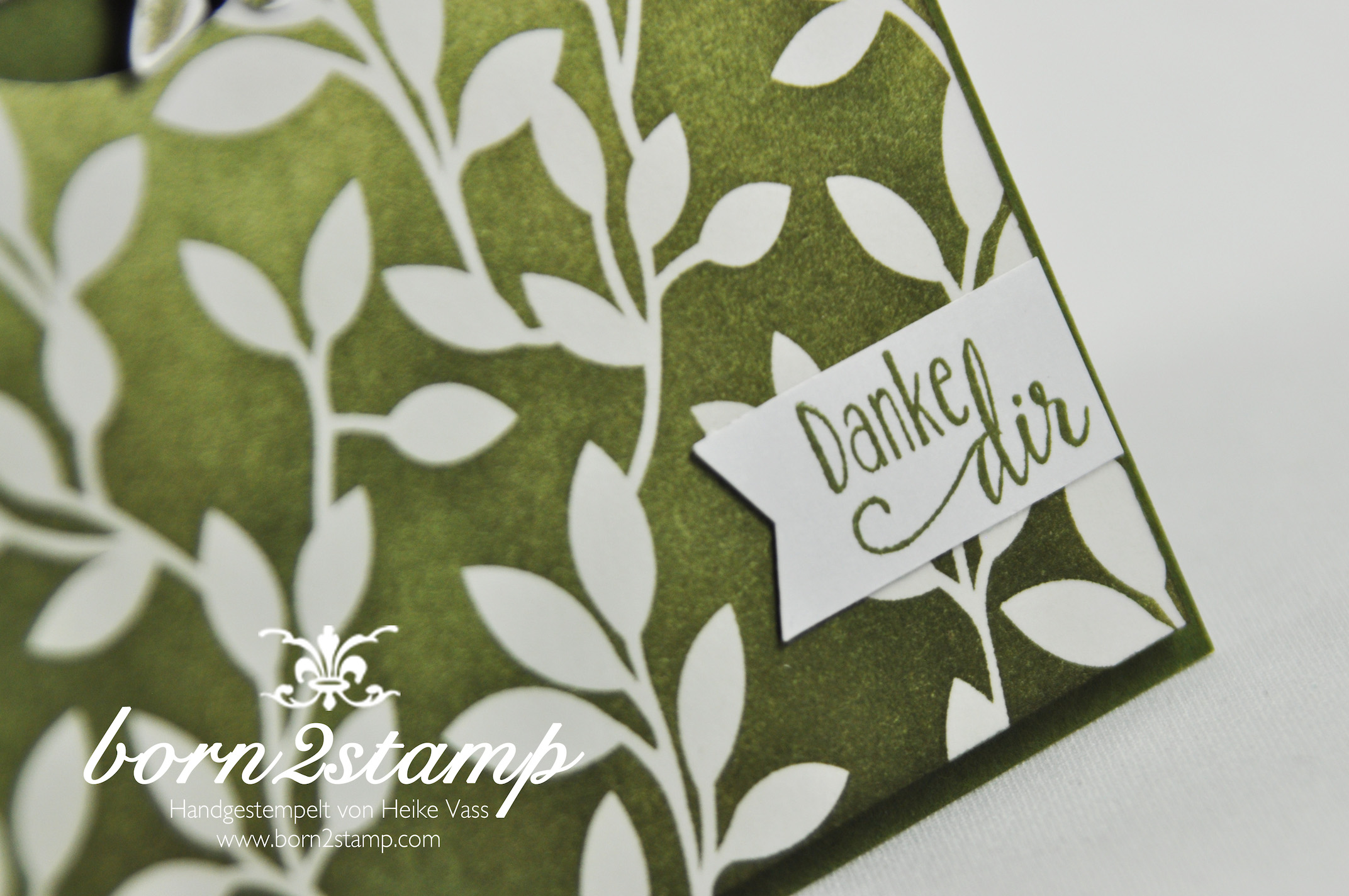 STAMPIN' UP! born2stamp – Sale a bration – SAB – DSP Zauberhaft – Lotus blossom – So froh – InColor Accessoire – Faehnchenstanze