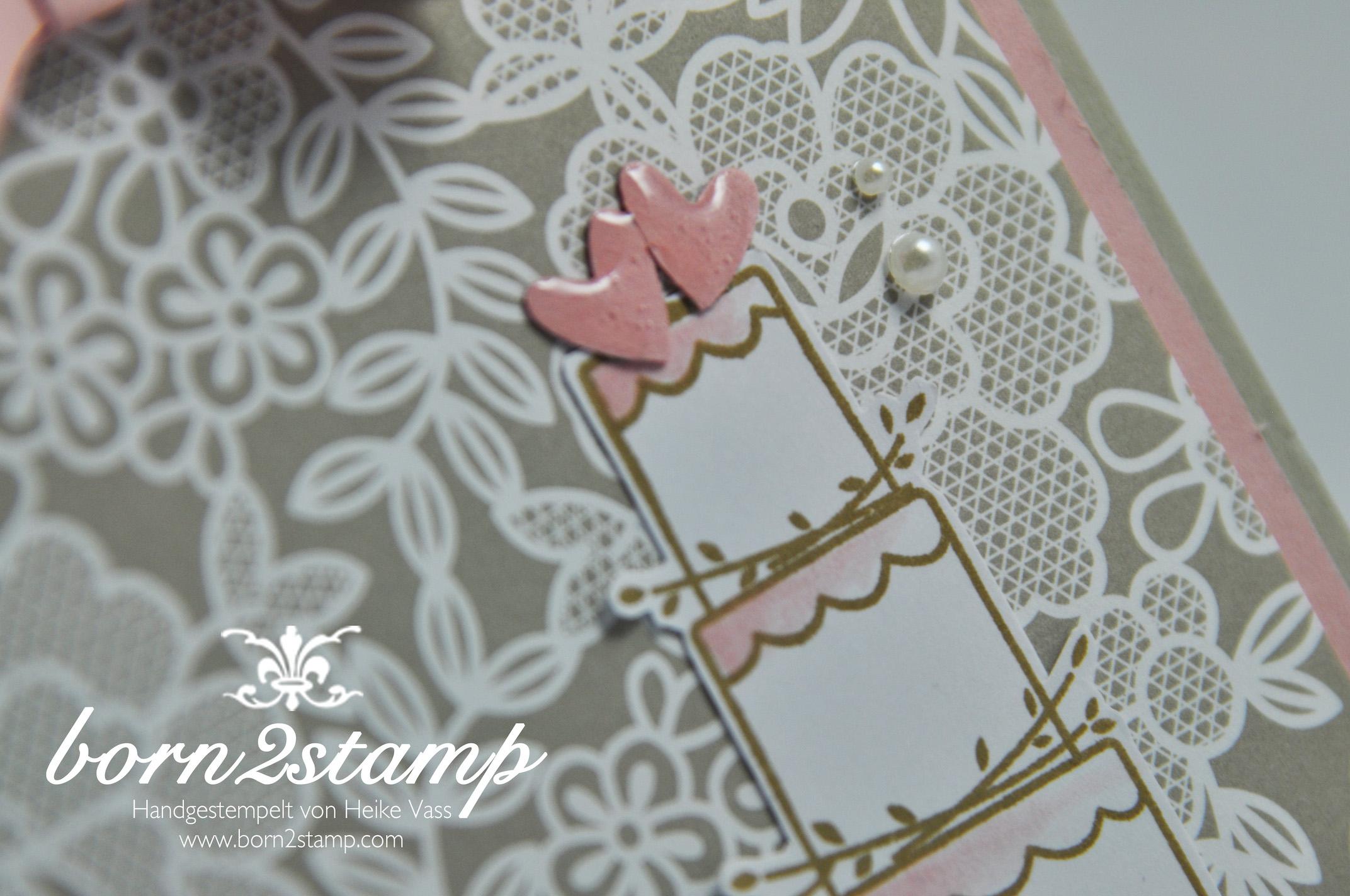 STAMPIN' UP! born2stamp Hochzeit – wedding – DSP Trau Dich – Perfekter Tag – Chrystal effects