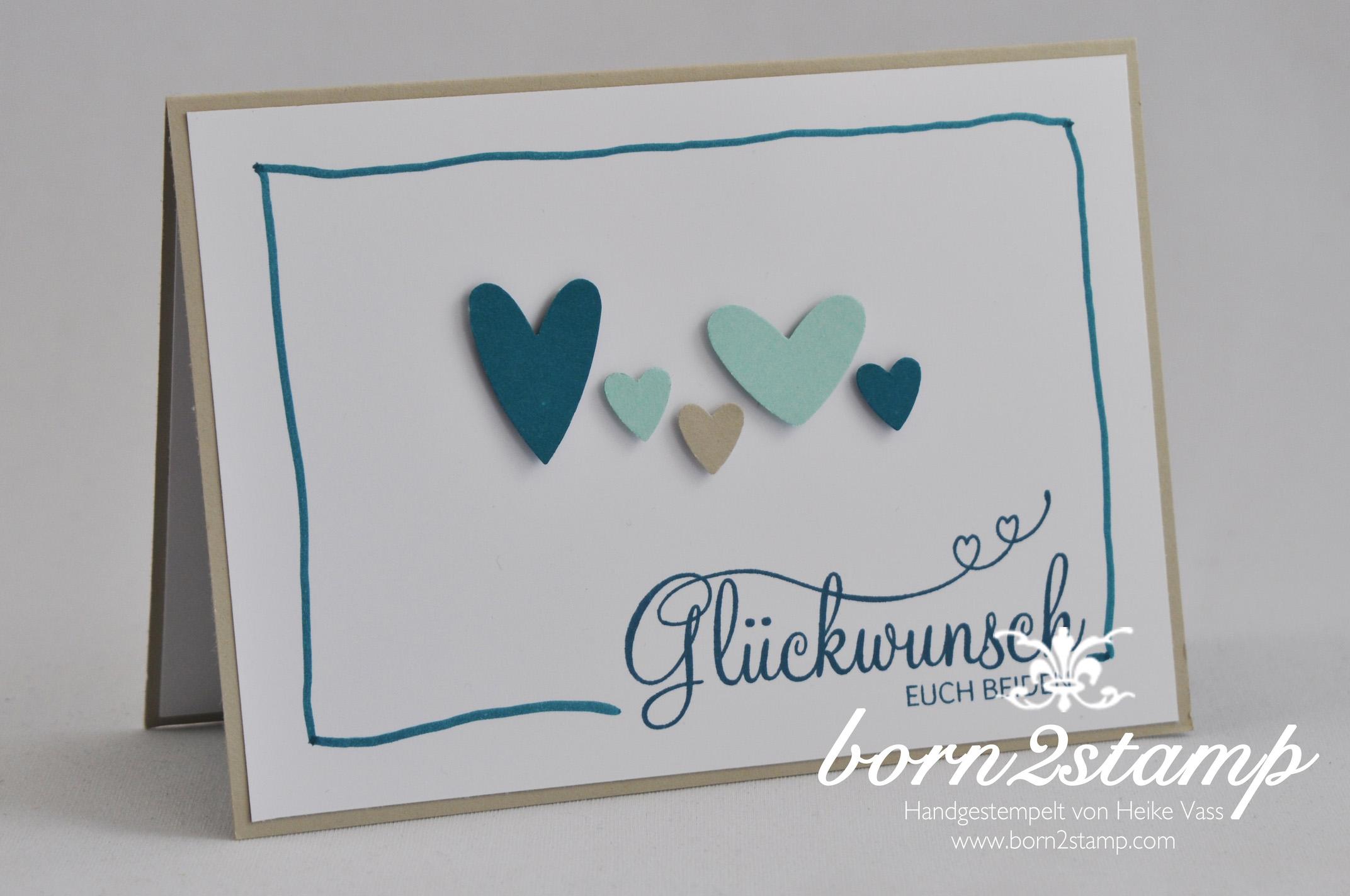 Nagelneu Stampin Up Hochzeitskarte Ut84 Startupjobsfa