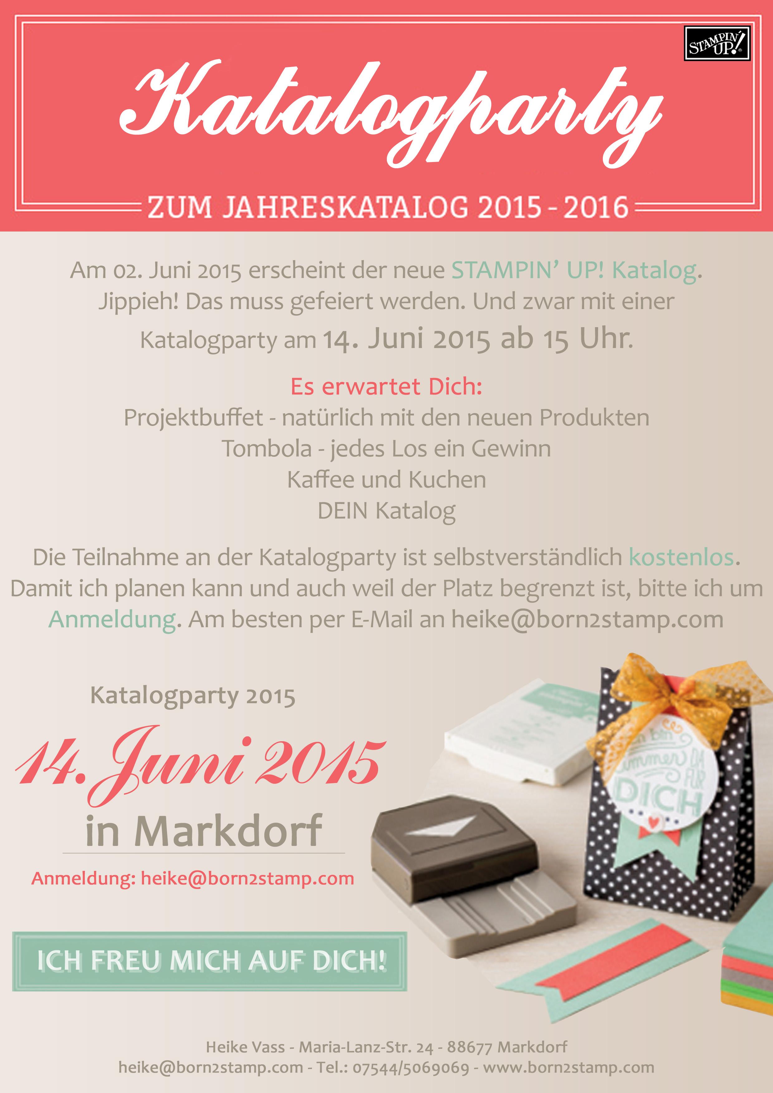 Katalogparty 2015
