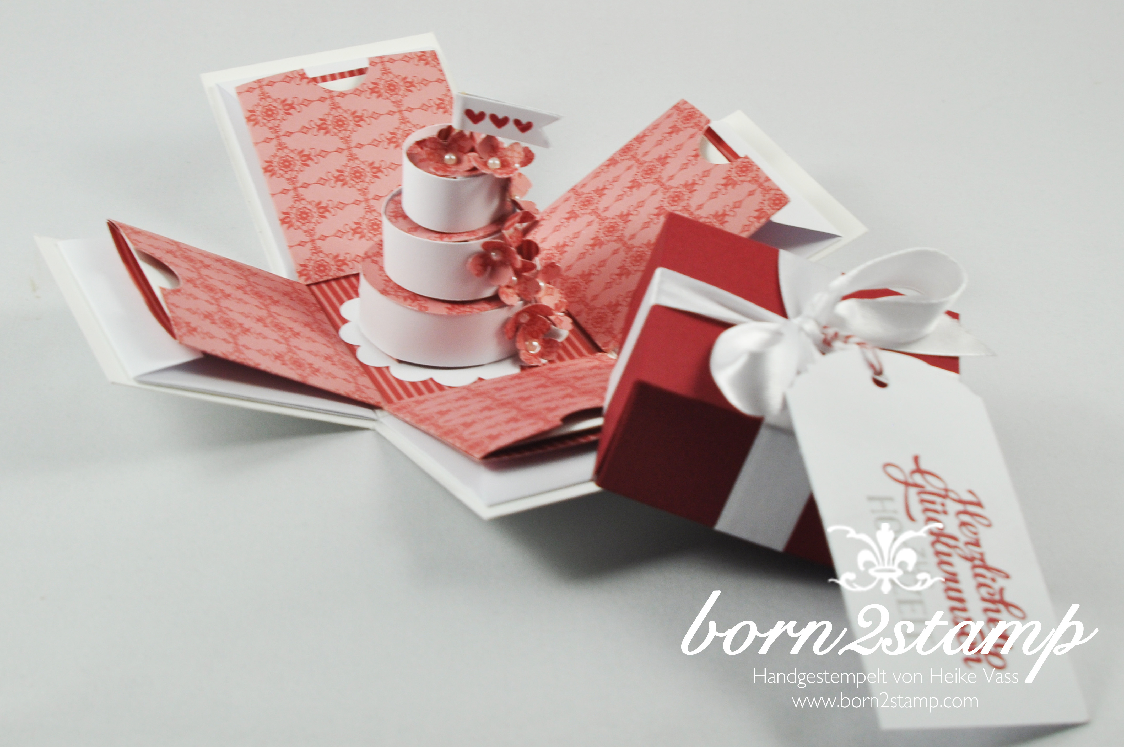 STAMPIN' UP! born2stamp Explosionsbox – Grusselemente 2