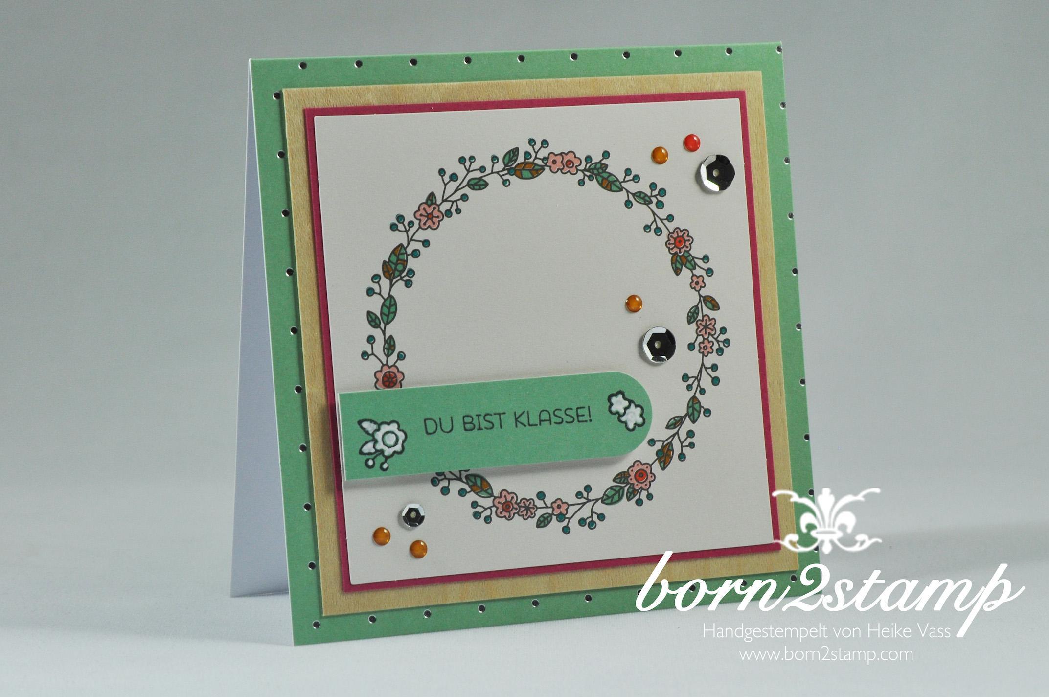 STAMPIN' UP! born2stamp Kartenset Landlust – Cottage greetings card kit