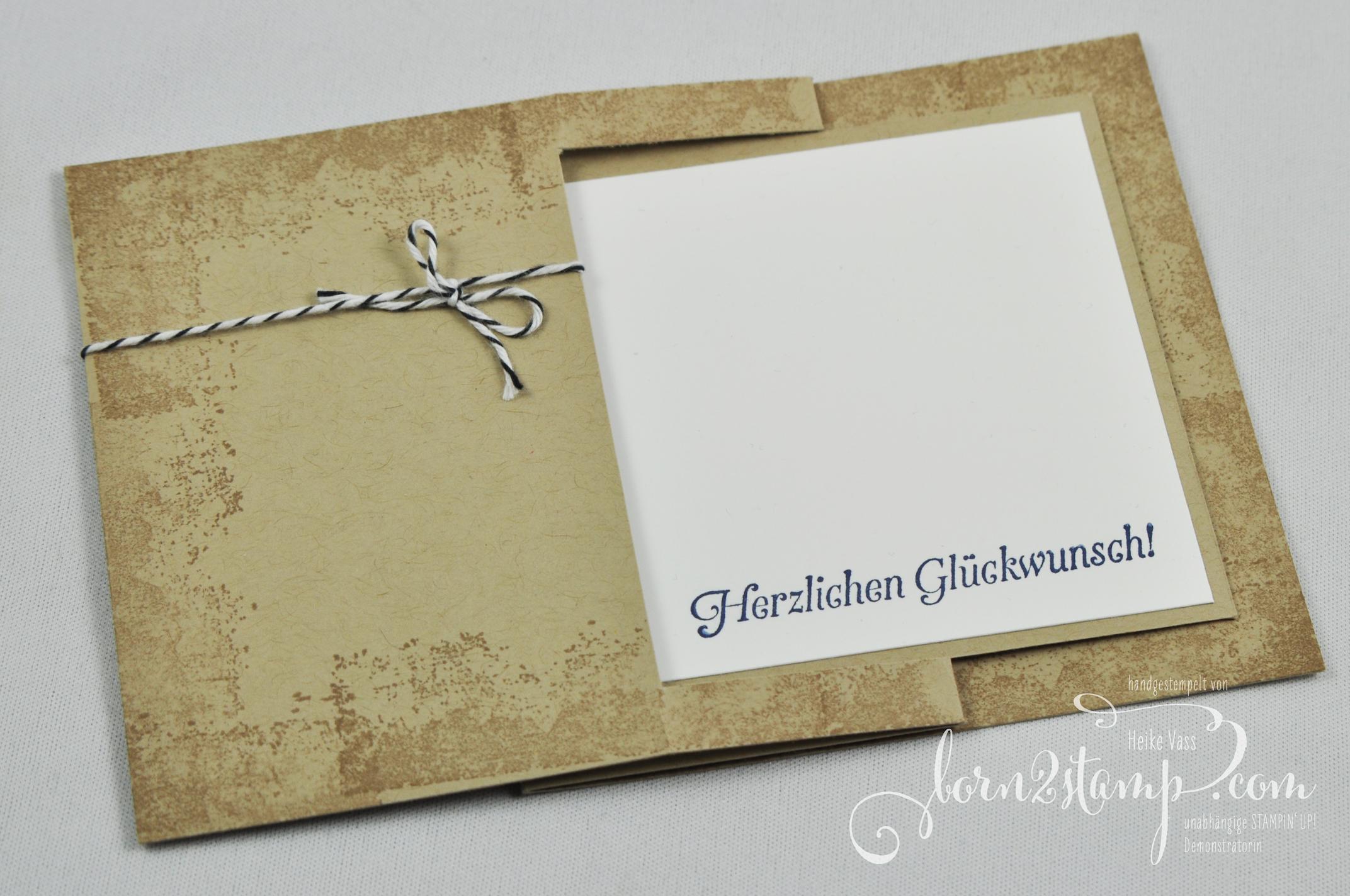 born2stamp STAMPIN' UP! Geburtstagskarte – Sale-a-bration – SAB – Hoch hinaus – Timeless Textures