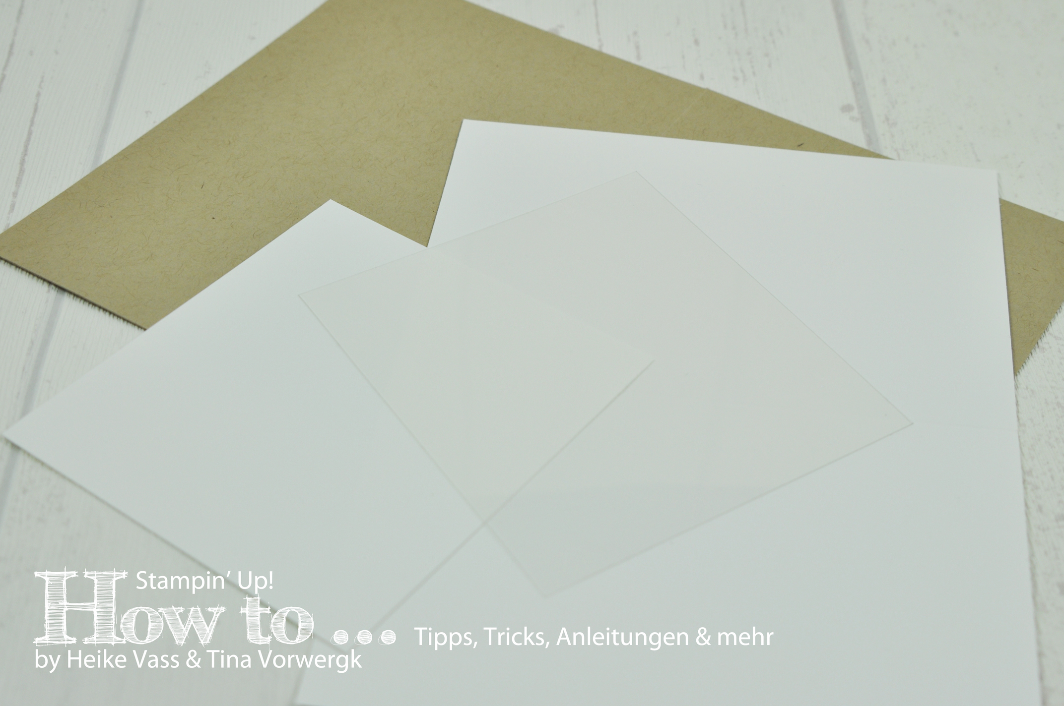 How to… STAMPIN' UP! – born2stamp – Magic Card