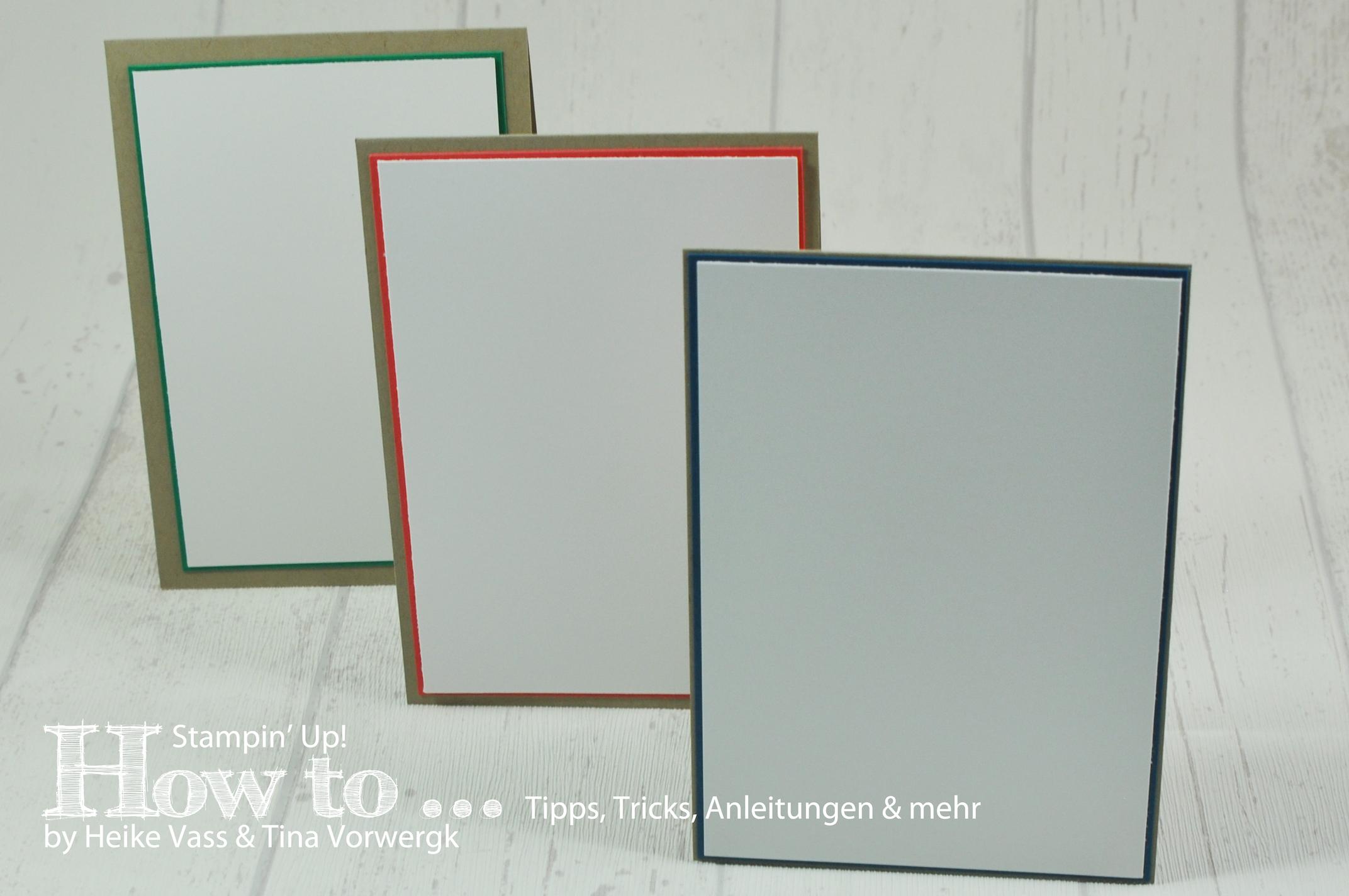 How to… Kartenmaße