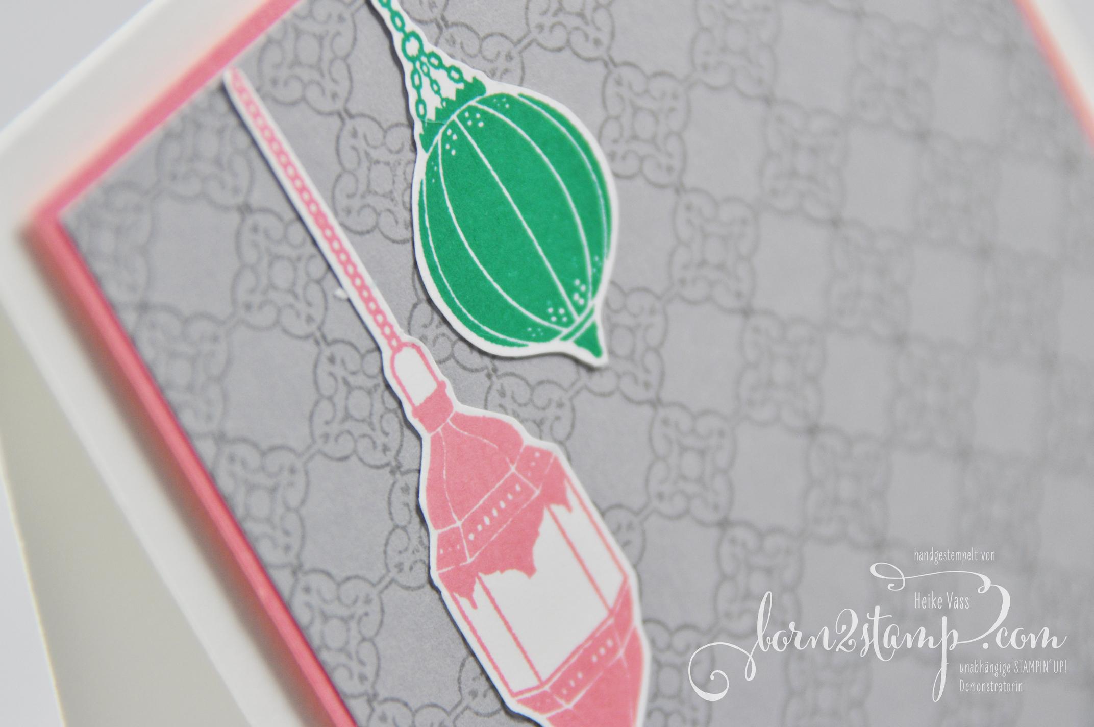 born2stamp STAMPIN' UP! Grusskarte – Moroccan Nights – Designer Grusselemente