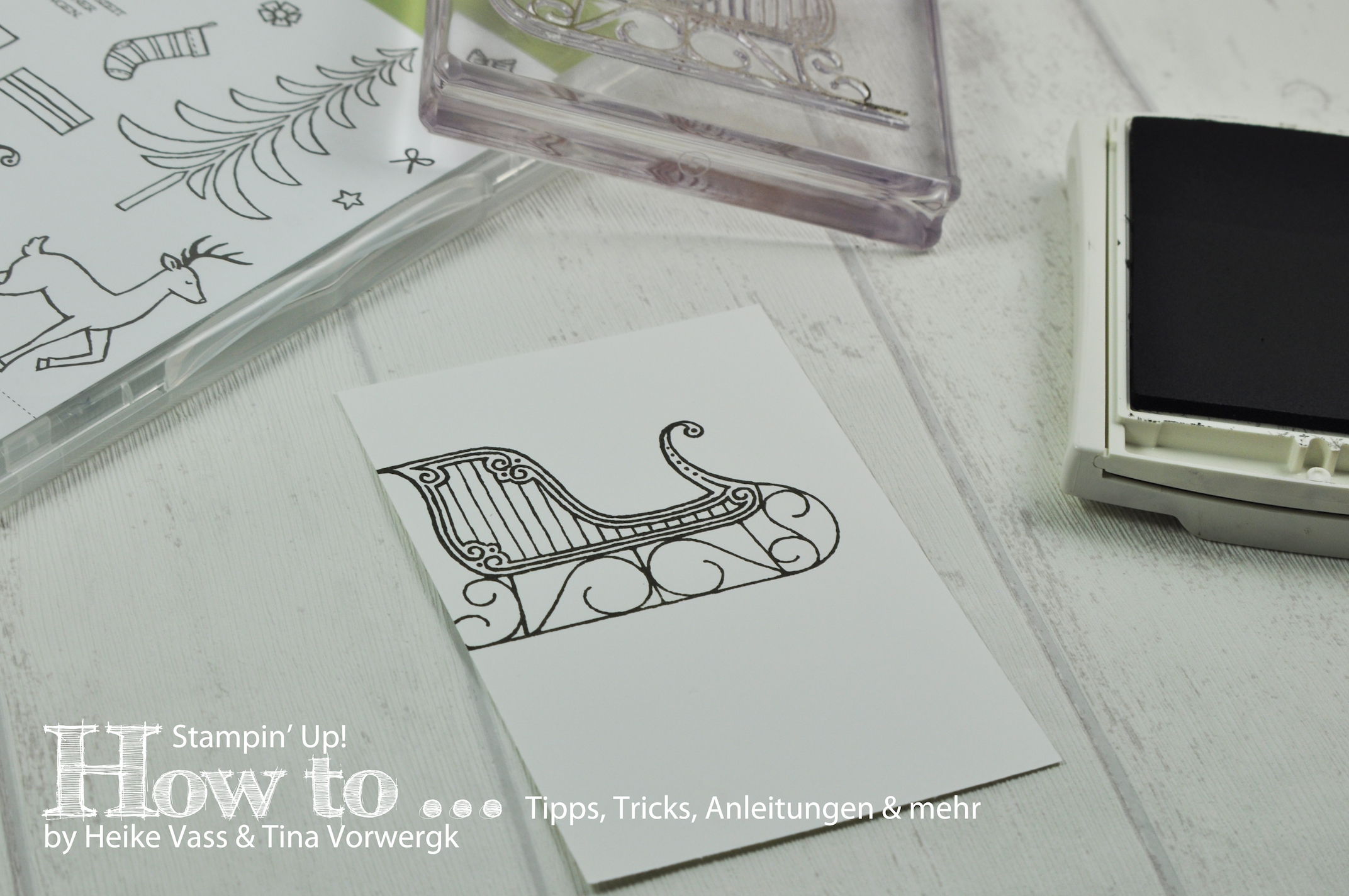How to… born2stamp – Reflection Technique