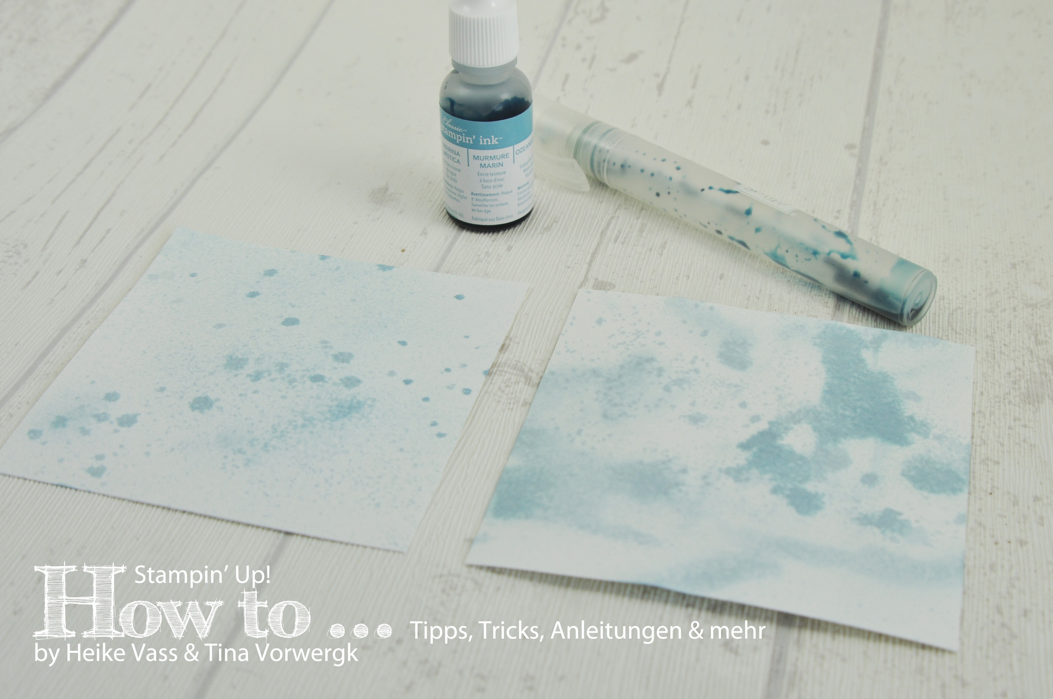 How to… Stampin' Spritzer