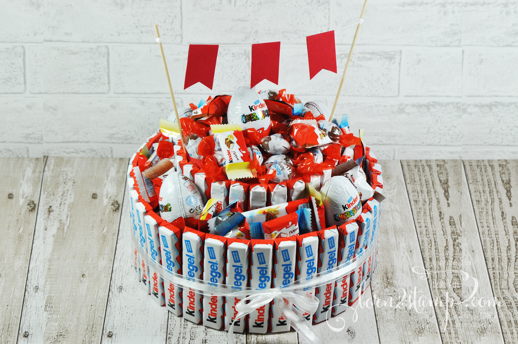 born2stamp Geburtstagstorte