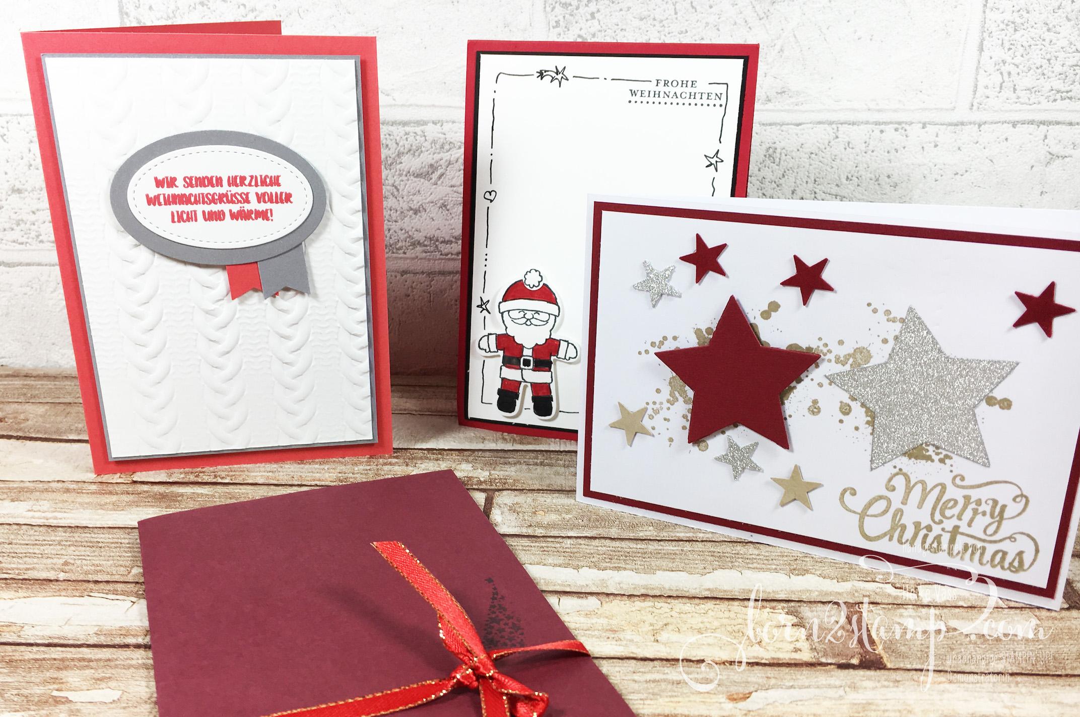 born2stamp Weihnachtskarten 2016-1