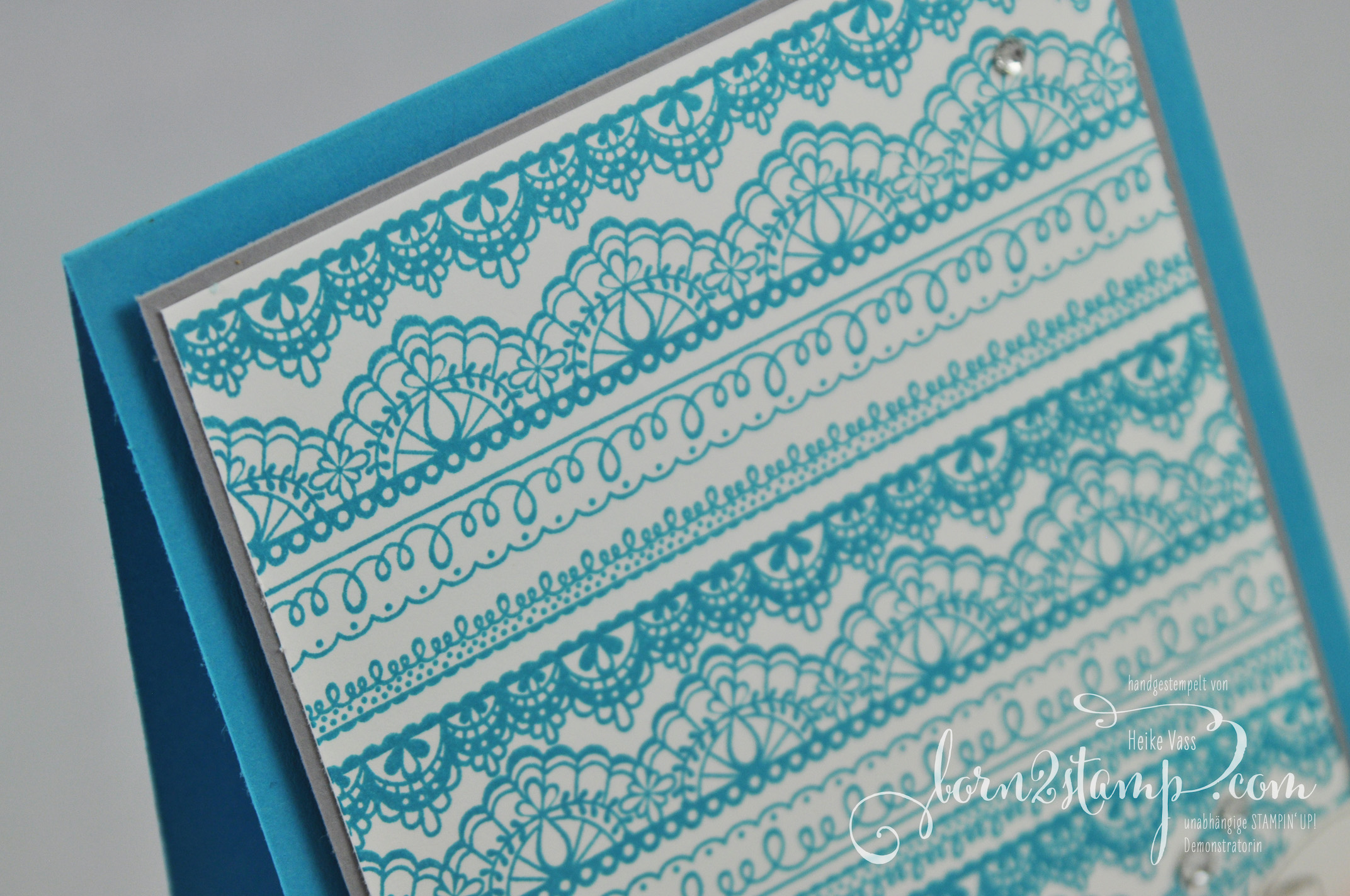 born2stamp STAMPIN' UP! INKSPIRE_me – Sale-a-bration – SAB – Delicate Details – Ballonparty