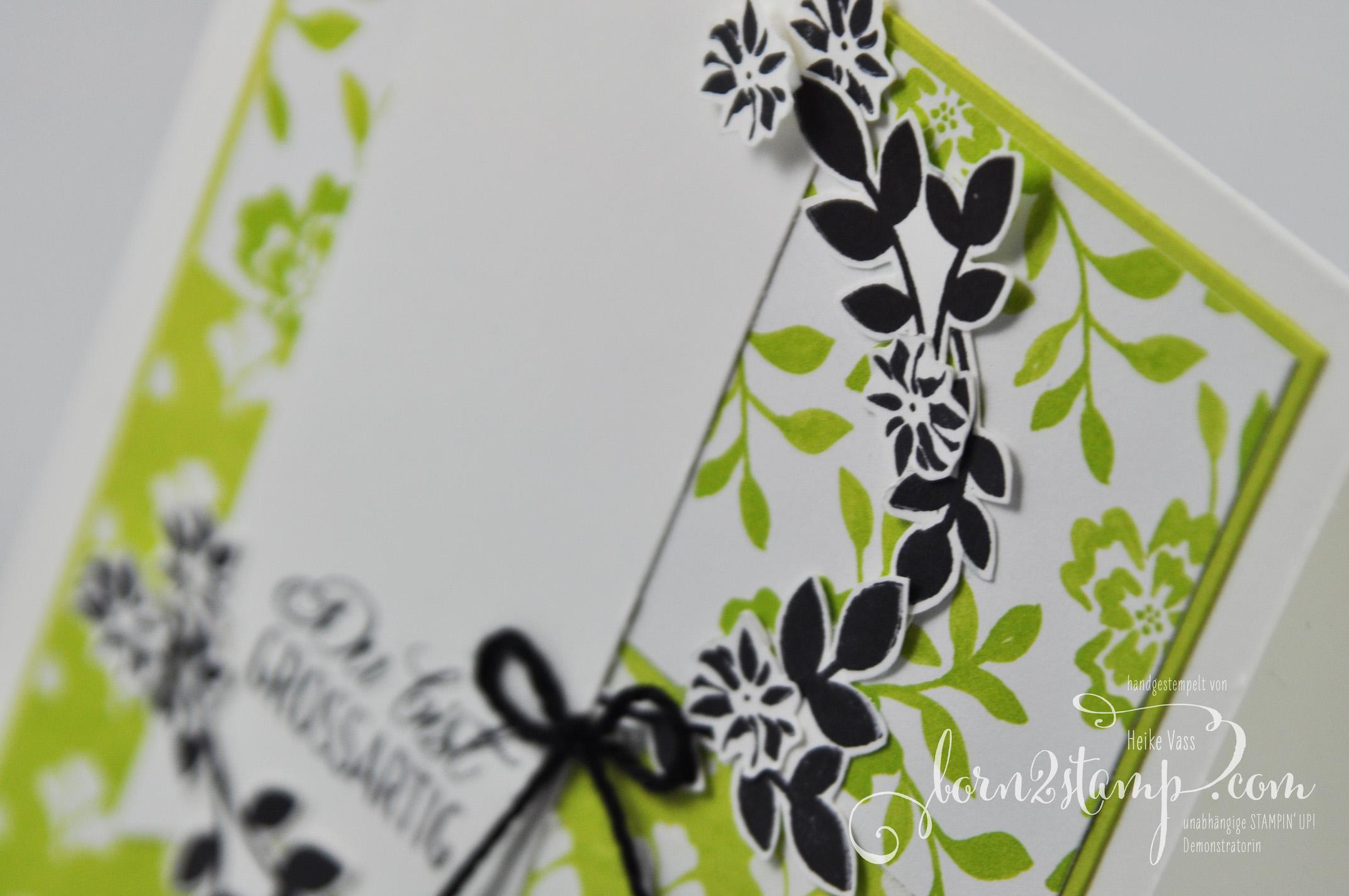 born2stamp STAMPIN' UP! INKSPIRE_me – Fuer Freunde – DSP Florale Eleganz