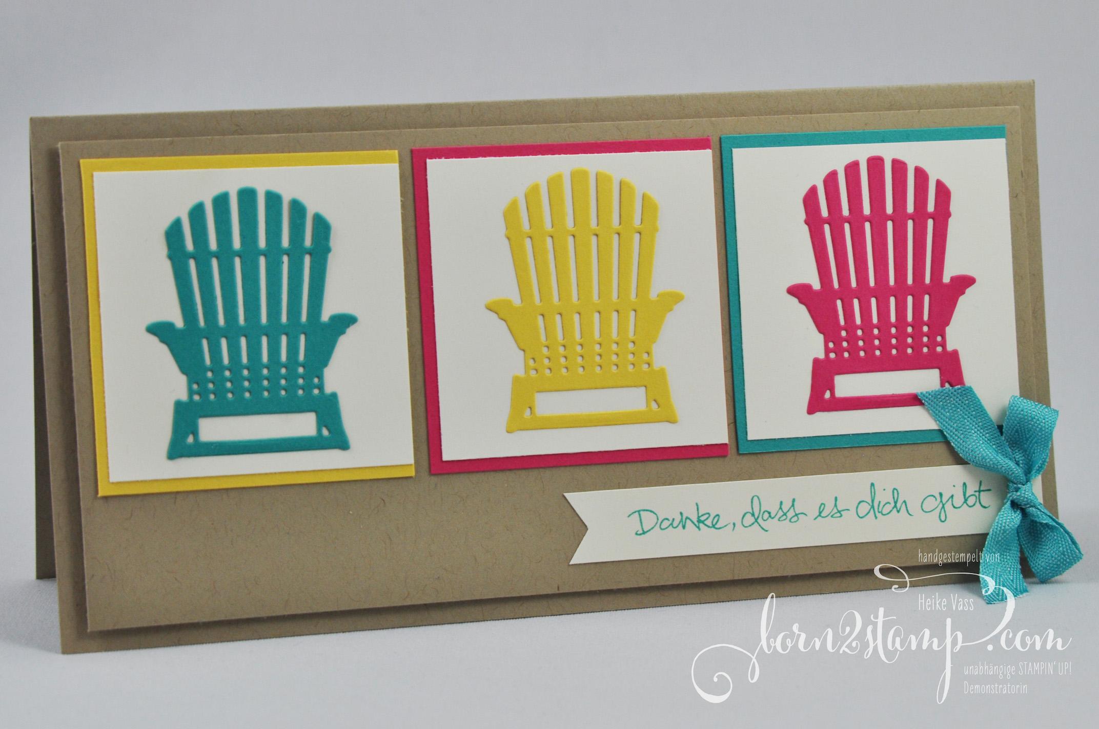 born2stamp STAMPIN' UP! INKSPIRE_me – Dankeskarte – Jahr voller Farben – Baum der Freundschaft