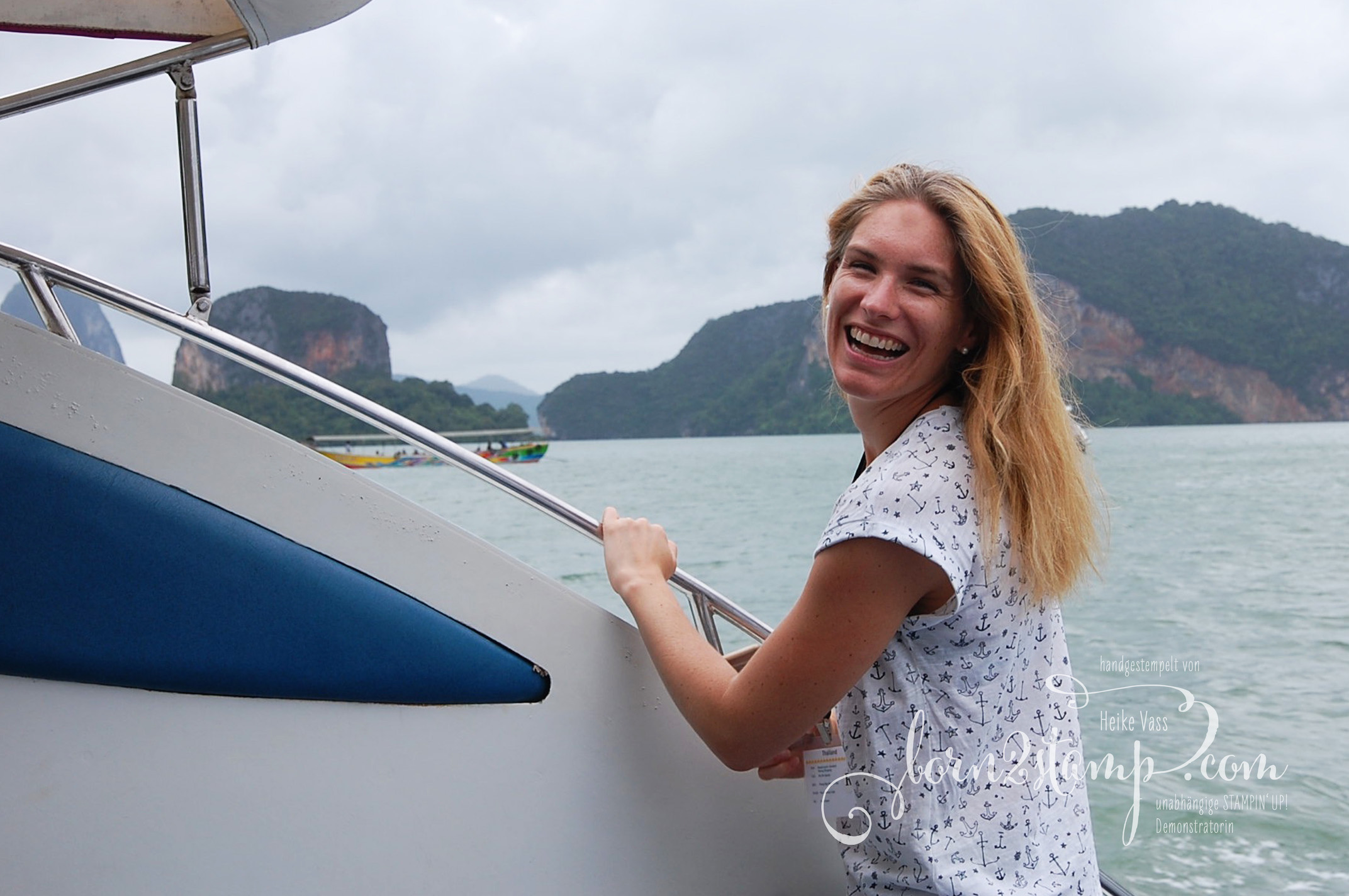 STAMPIN' UP! born2stamp Prämienreise Thailand – Ausflug Phang Nga 11
