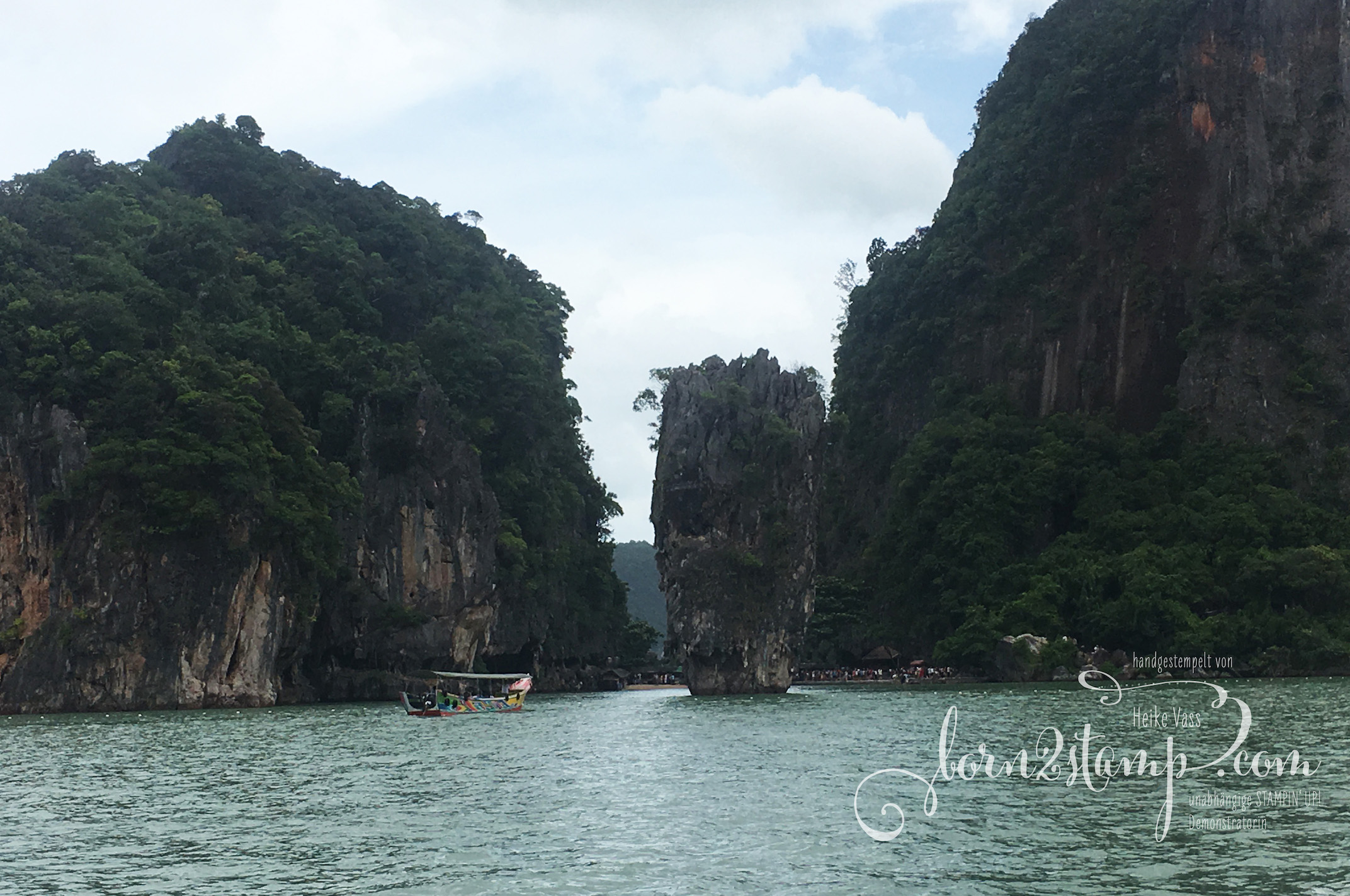 STAMPIN' UP! born2stamp Prämienreise Thailand – Ausflug Phang Nga 7