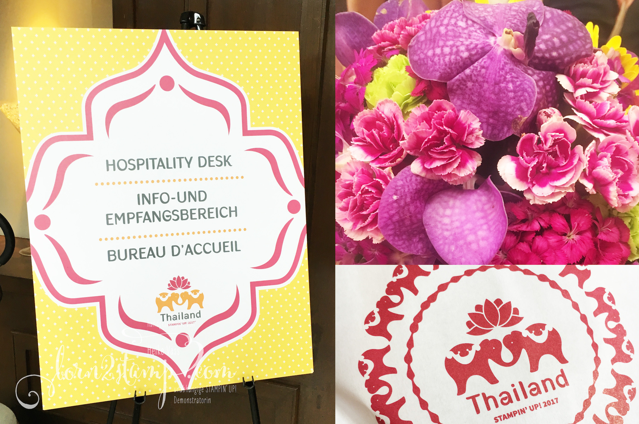 STAMPIN' UP! born2stamp Prämienreise Thailand – Hospitality Room