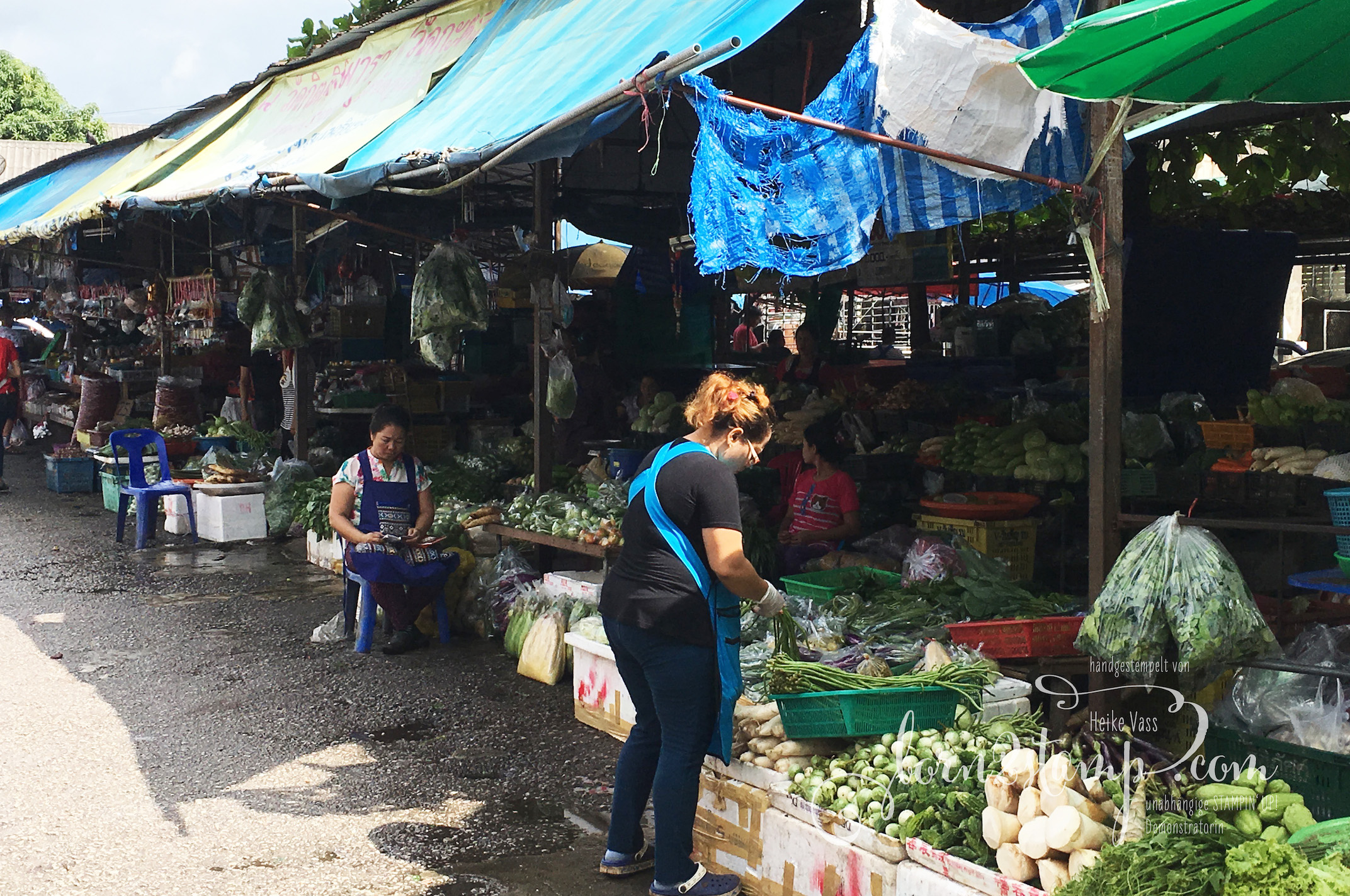 STAMPIN' UP! born2stamp Prämienreise Thailand – Kochkurs 2