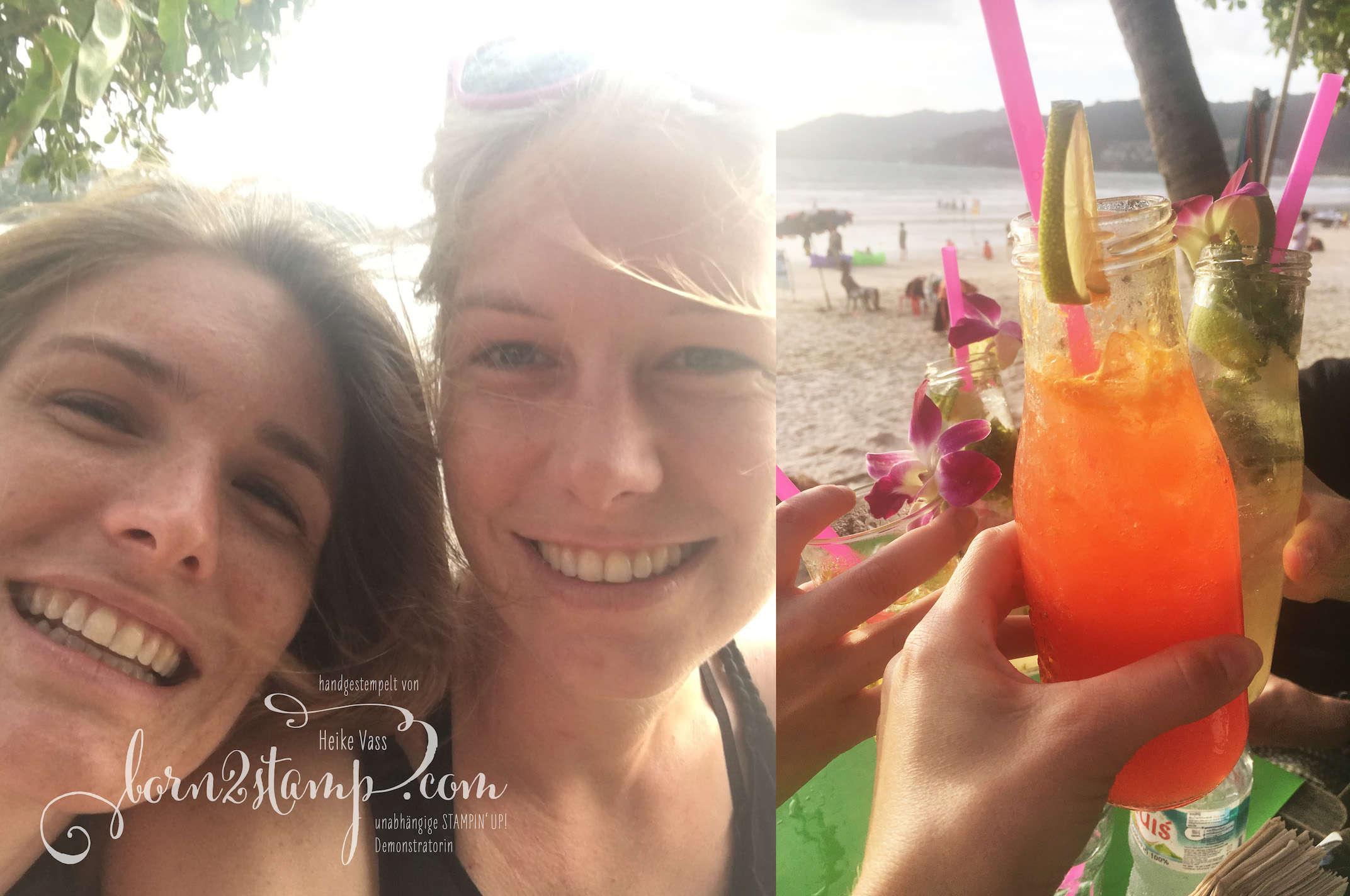 STAMPIN' UP! born2stamp Prämienreise Thailand – Patong Beach 1
