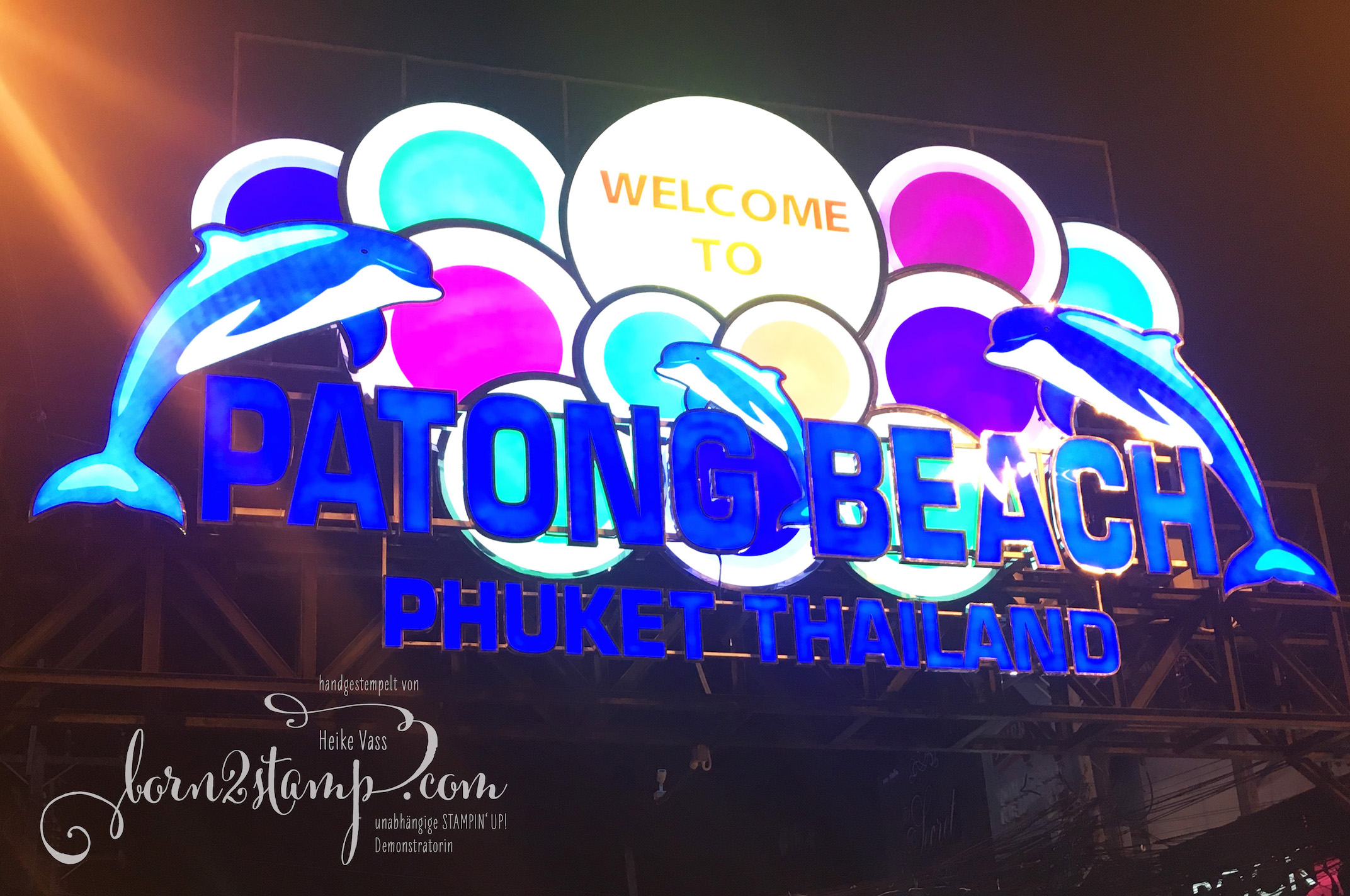 STAMPIN' UP! born2stamp Prämienreise Thailand – Patong Beach 2