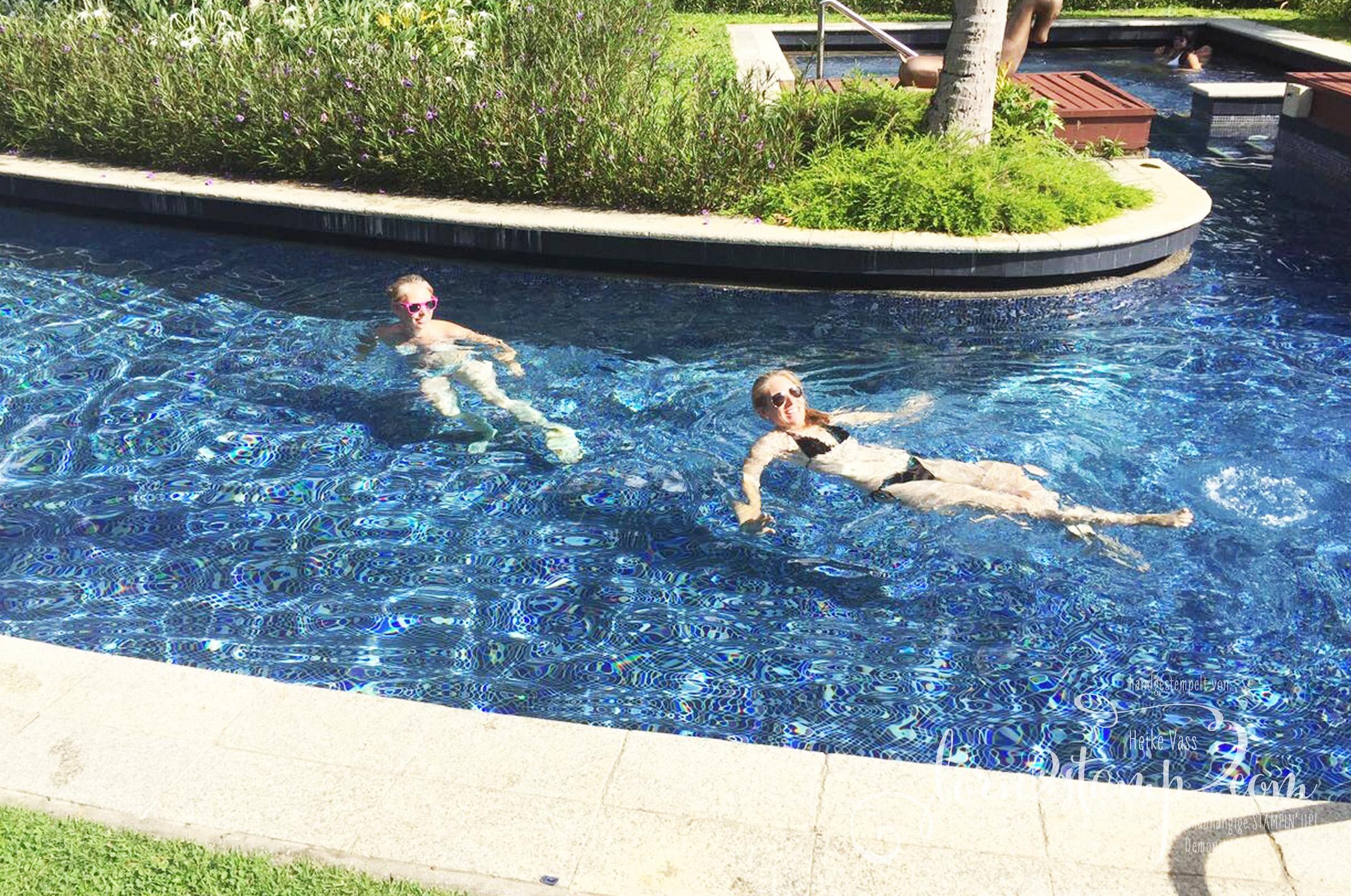 STAMPIN' UP! born2stamp Prämienreise Thailand – Pool