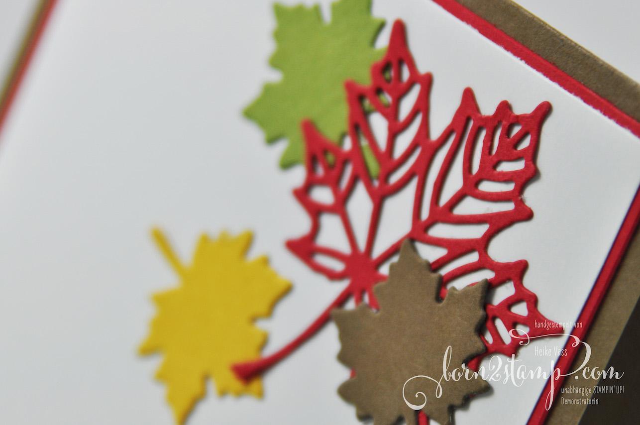 born2stamp STAMPIN' UP! IN{K}SPIRE_me Herbst – Jahr voller Farben – Thinlits Aus jeder Jahreszeit