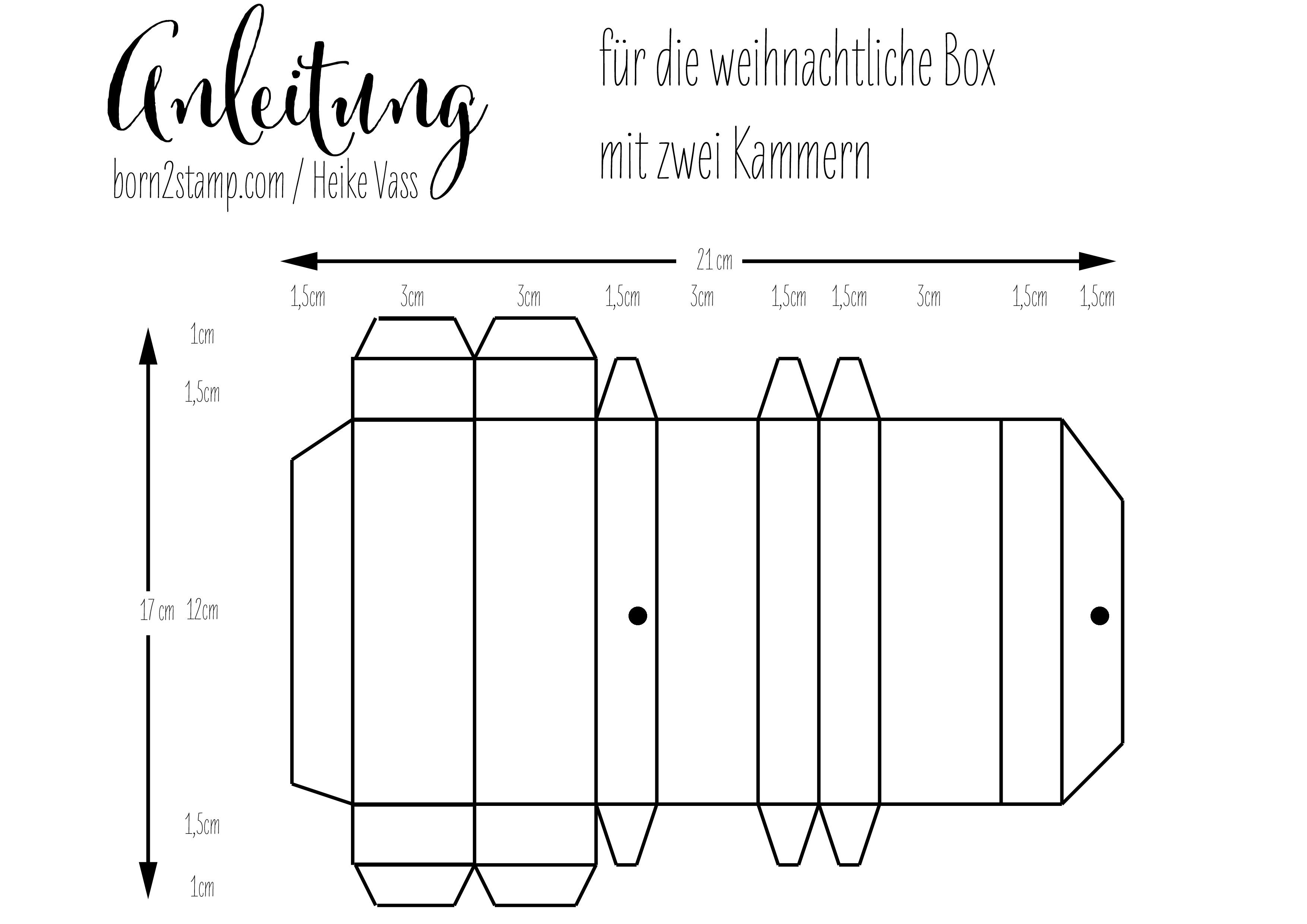 Anleitung Box