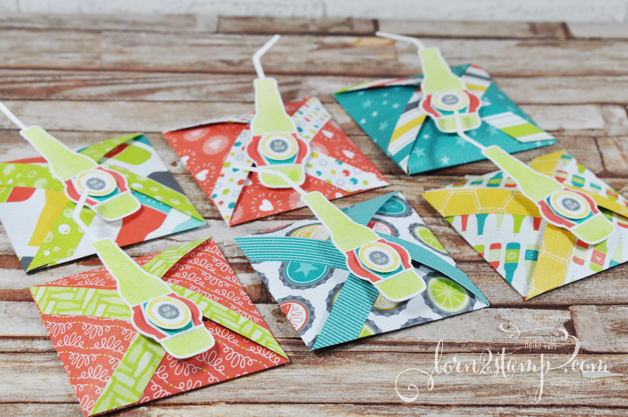 born2stamp STAMPIN' UP! Workshop Goodies – Auf Dich – DSP Einfach spritzig