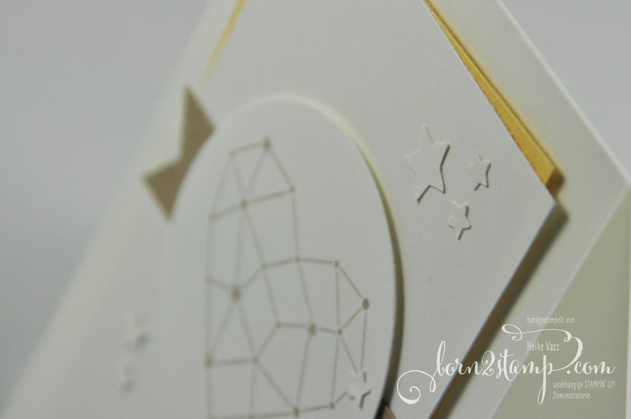 born2stamp INKSPIRE_me STAMPIN' UP! Hochzeitskarte – Sternstunden – Mond und Sterne