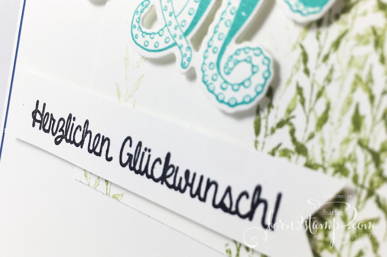 born2stamp STAMPIN' UP! INKSPIRE_me – Geburtstagskarte – Glueck und Meer – Persoenlich ueberbracht