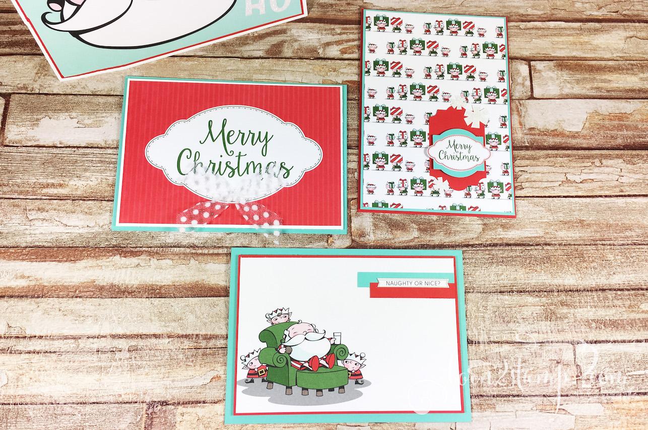 born2stamp STAMPIN' UP! Bloghop HWK 2018 – Weihnachtskartenbox – Erinnerungen und mehr Weihnachtswerkstatt