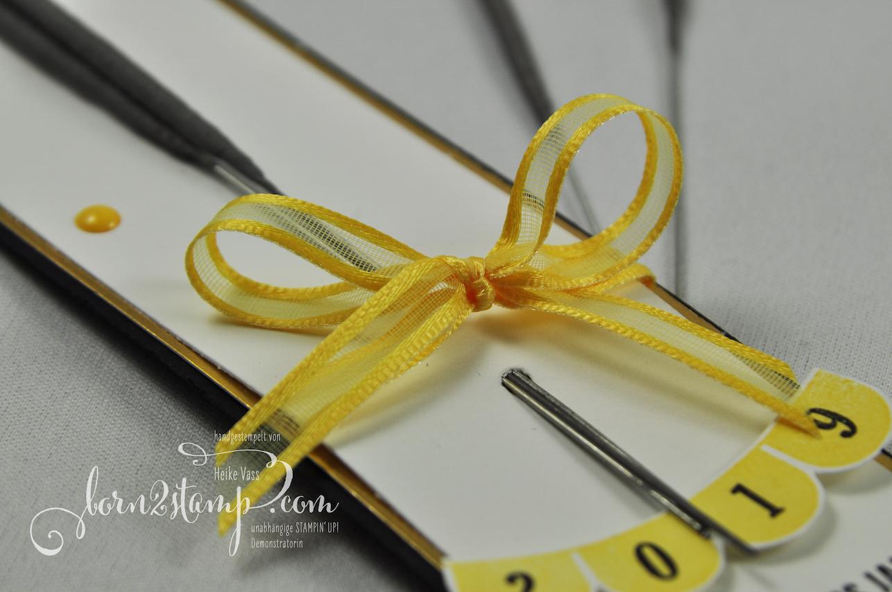 born2stamp STAMPIN' UP! INKSPIRE_me Silvester-Special – Wunderkerzen – Pick a pennant – Klitzekleine Wuensche