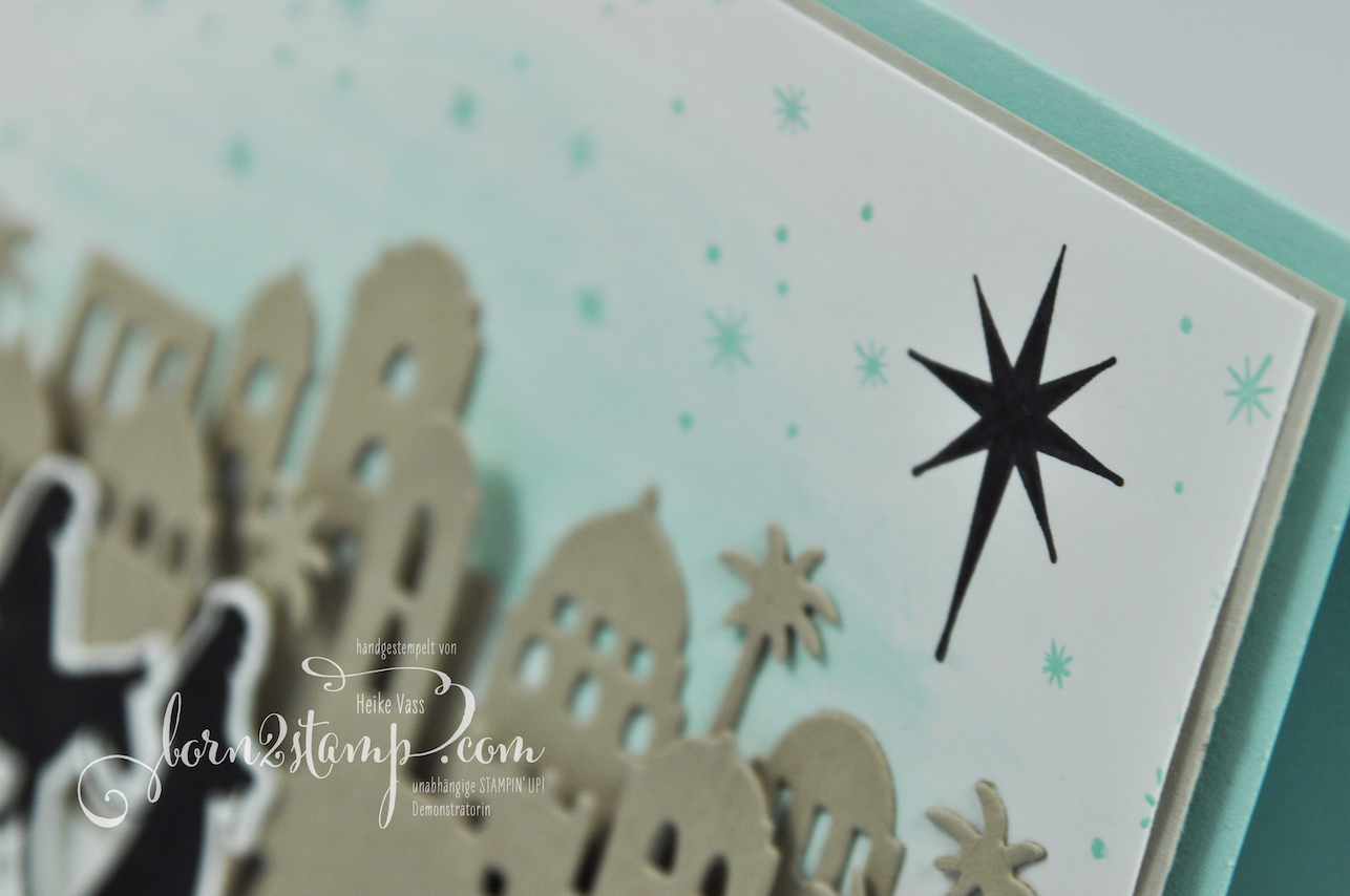 born2stamp STAMPIN' UP! INKSPIRE_me – Weihnachtskarte – Weihnachtssegen – Bethlehem – Heilige Nacht