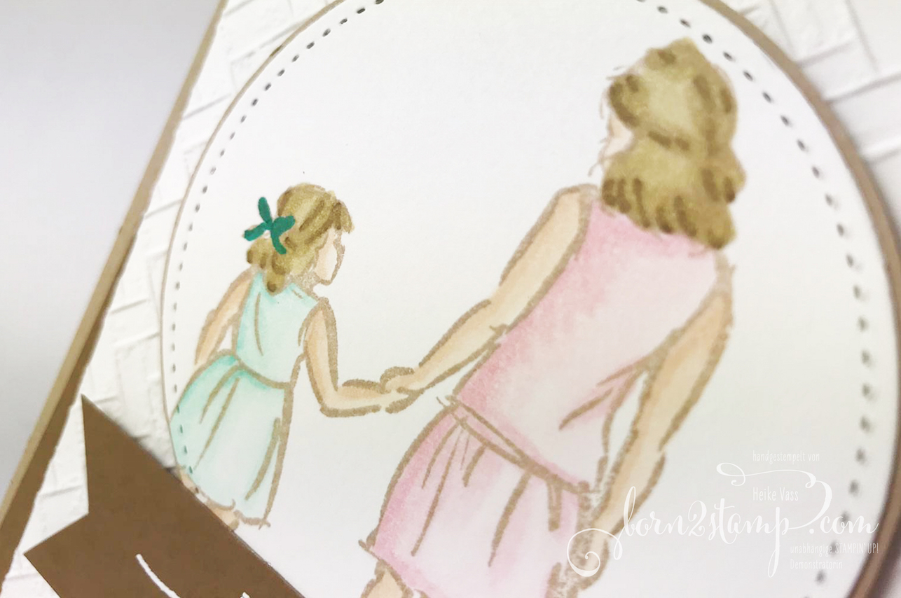 born2stamp STAMPIN UP INKSPIRE_me Beautiful Moments – Strandmatte – Stickmuster – Strass in Champagner