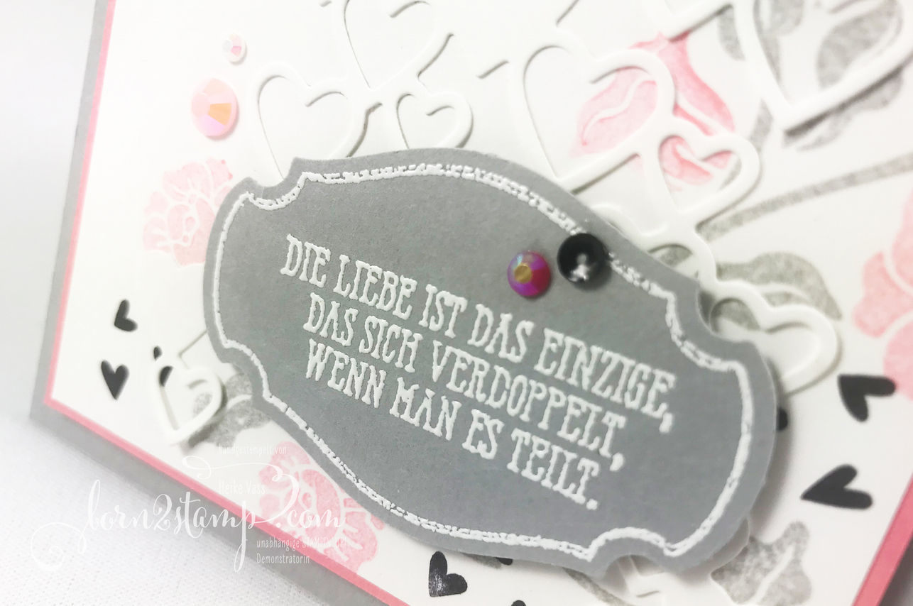 born2stamp STAMPIN' UP! INKSPIRE_me Valentinskarte – Heart to heart – Gut gesagt – Alles im Block – Stanzform Herzregen