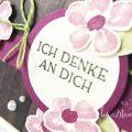 born2stamp INKSPIRE me STAMPIN UP Karte DSP Ganz mein Geschmack - Blumengruss