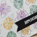 born2stamp INKSPIRE me STAMPIN UP Geburtstagskarte - Eiszeit - Freundschaftsblüten - Zany Zebras